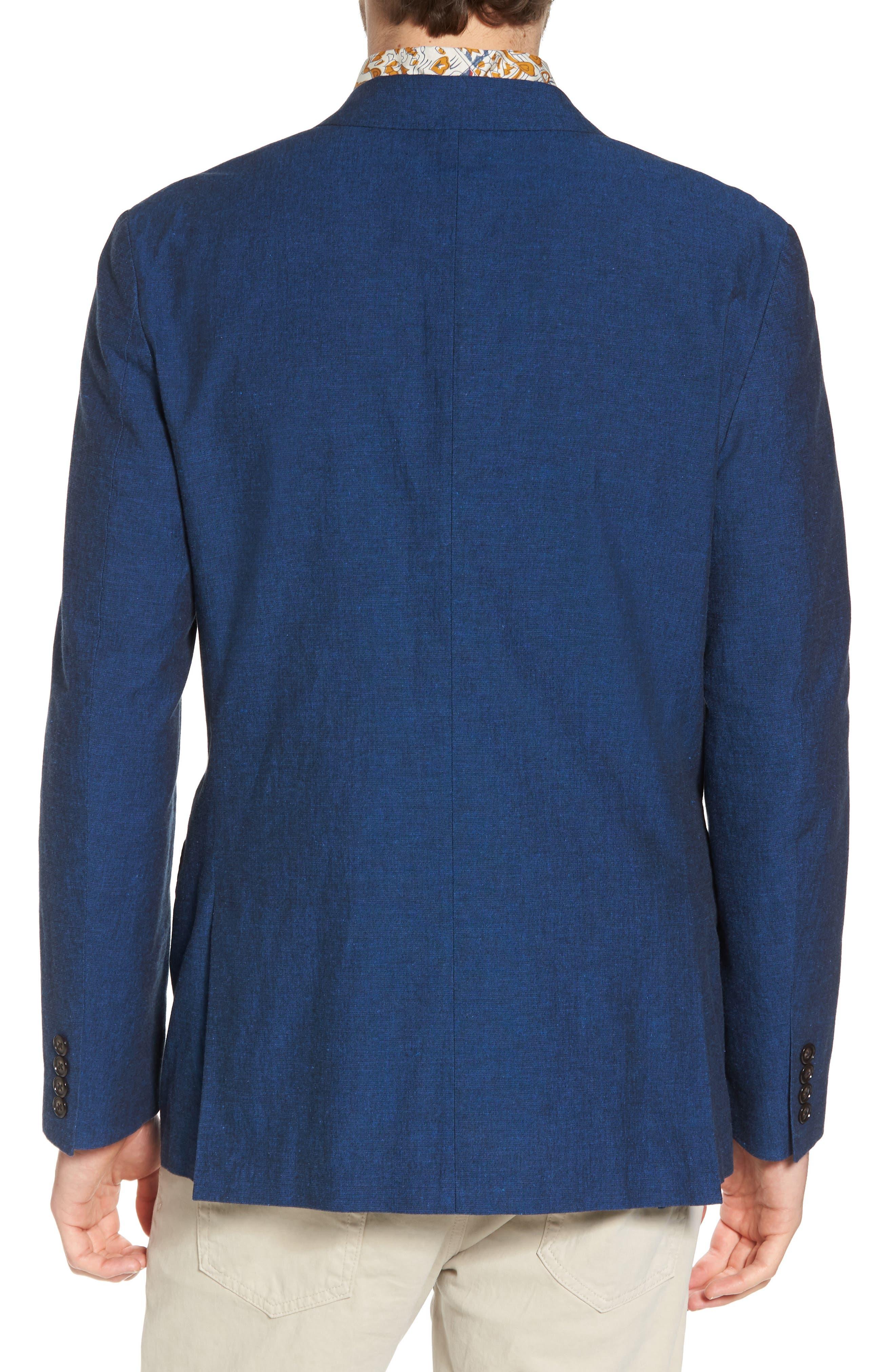 Ludlow Cotton & Linen Blazer,                             Alternate thumbnail 2, color,