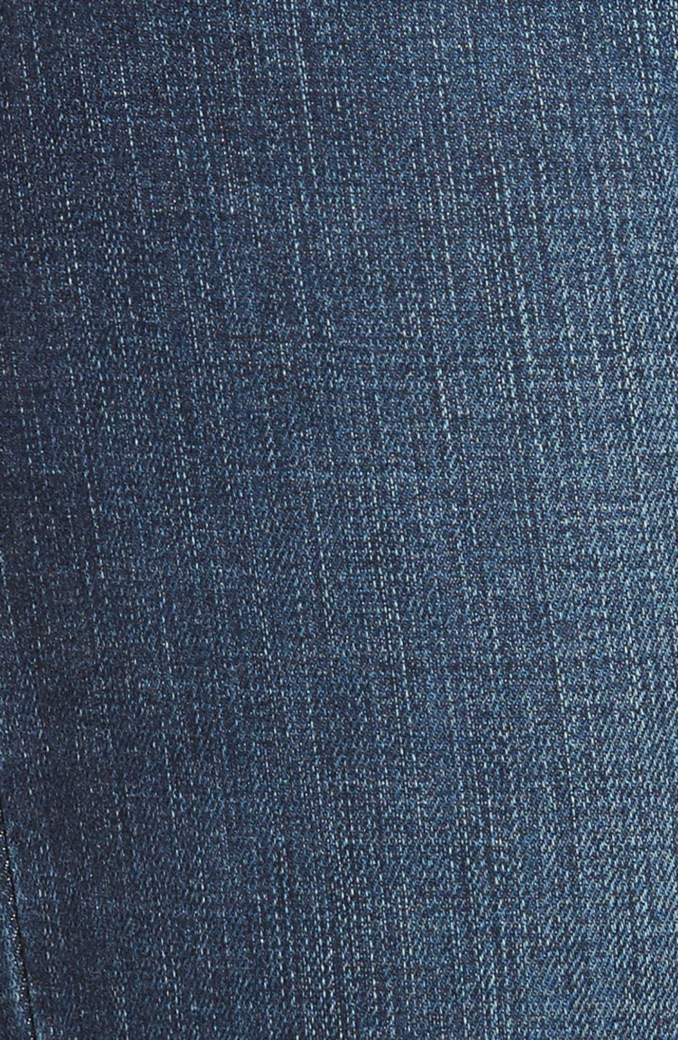 Flawless - Charlie Blondie Hem Jeans,                             Alternate thumbnail 5, color,