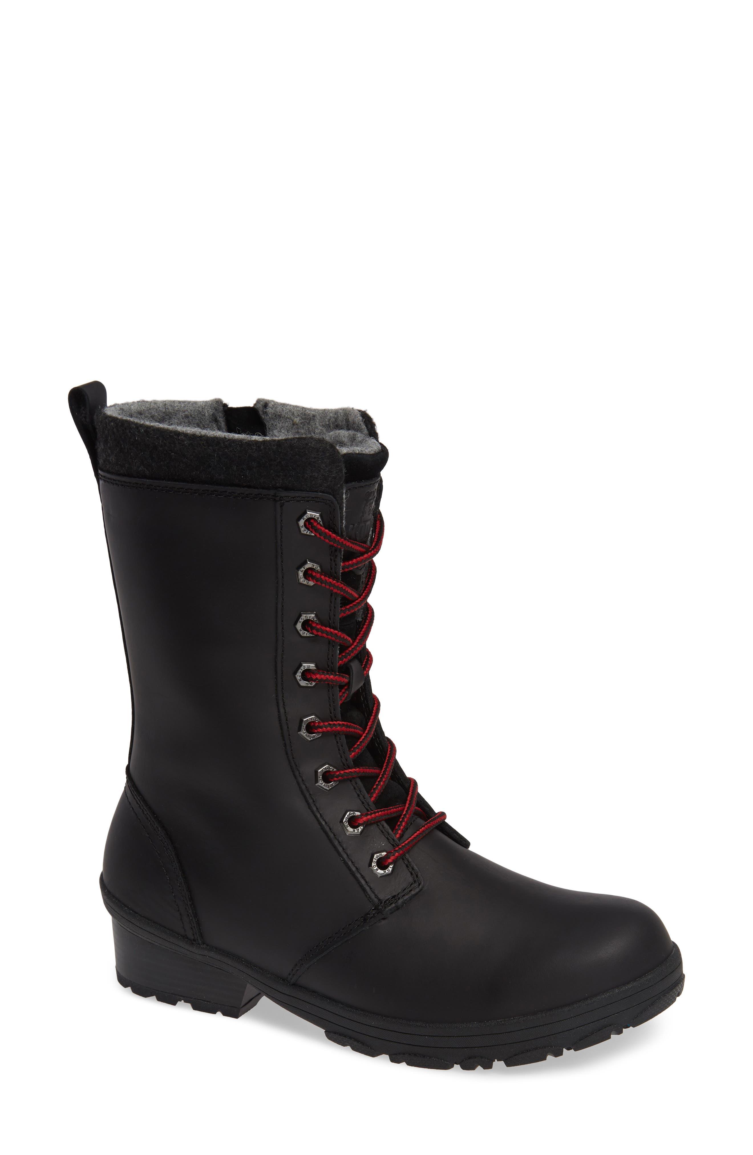 Kodiak Marcia Insulated Waterproof Boot, Black