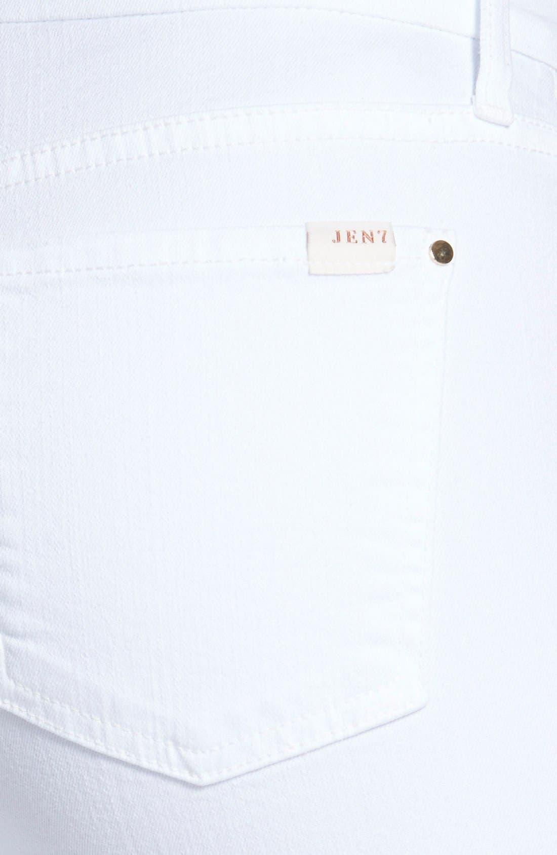 Stretch Slim Straight Leg Jeans,                             Alternate thumbnail 3, color,                             101