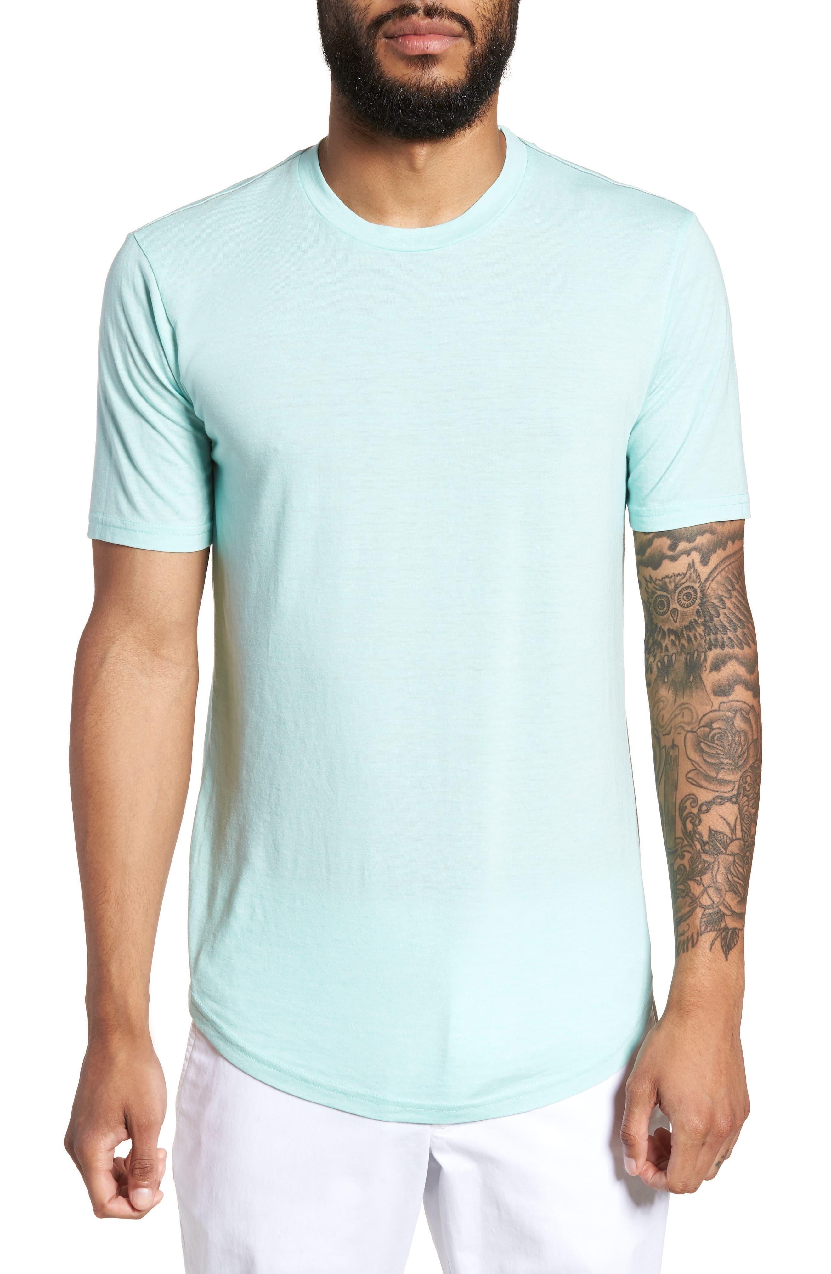 Scallop Triblend Crewneck T-Shirt,                             Main thumbnail 10, color,