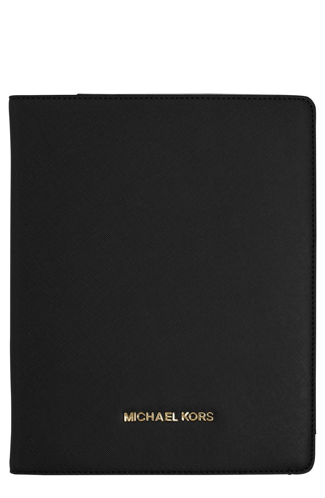 MICHAEL MICHAEL KORS,                             iPad Air Case,                             Main thumbnail 1, color,                             001