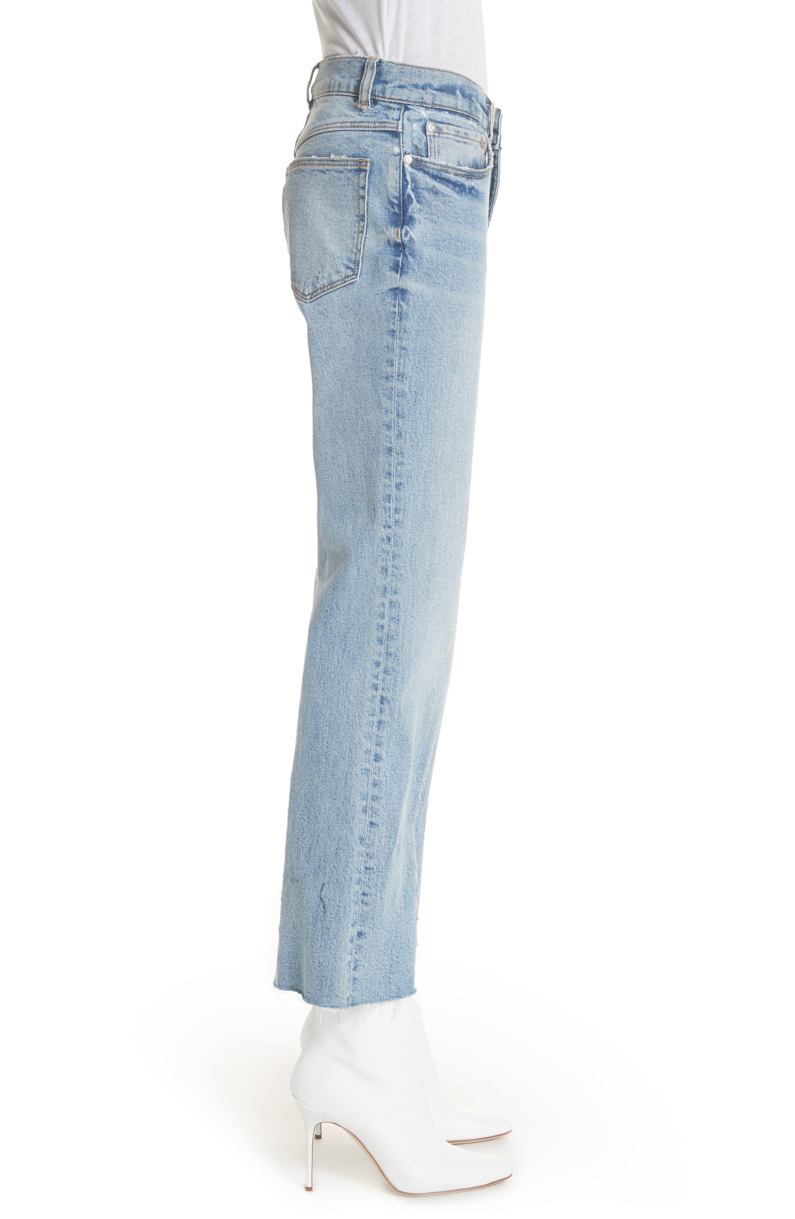 Ines Kick Bootcut Jeans,                             Alternate thumbnail 3, color,                             LEFT BANK WASH