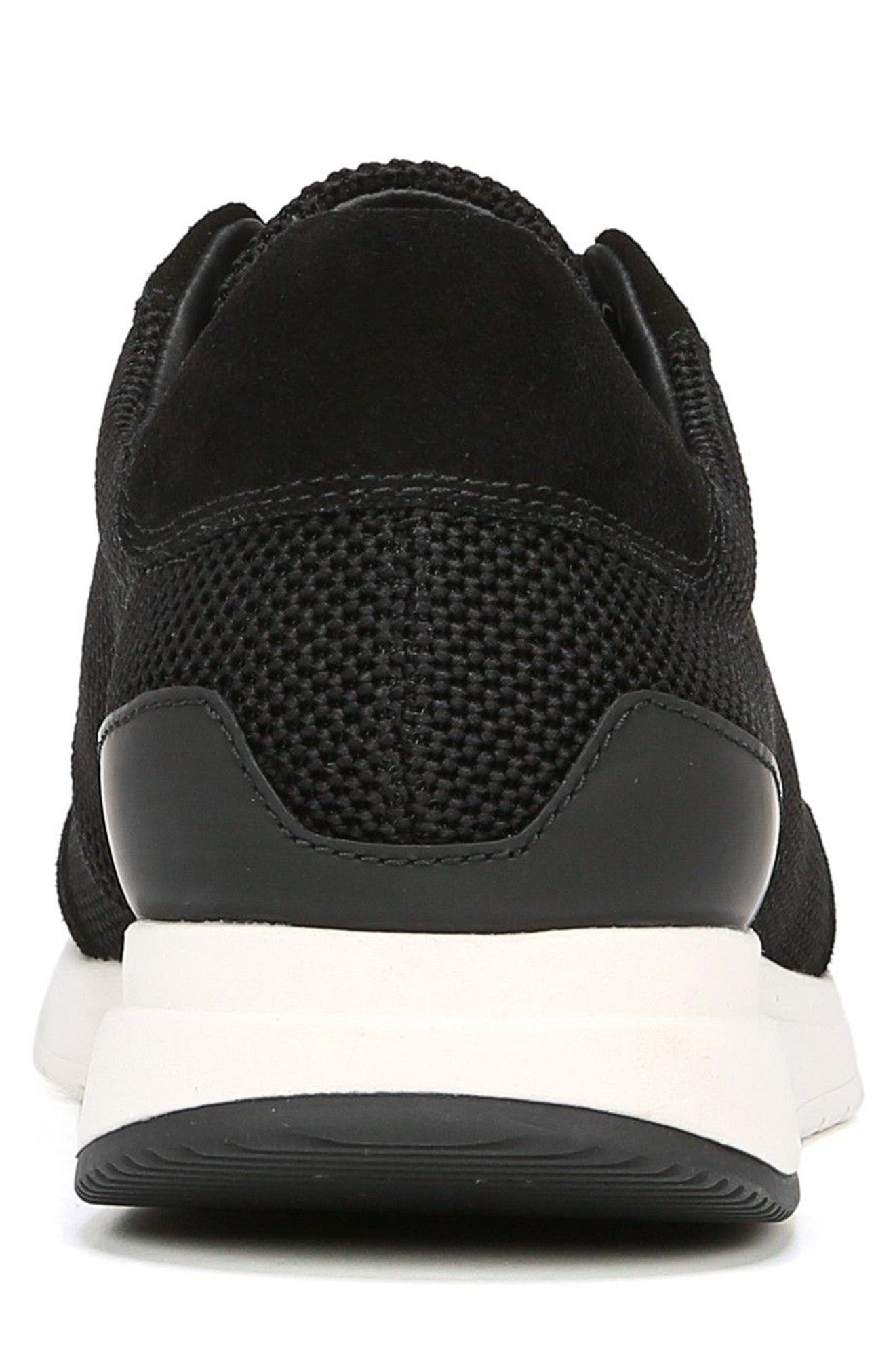 Payton Mesh Sneaker,                             Alternate thumbnail 7, color,                             BLACK