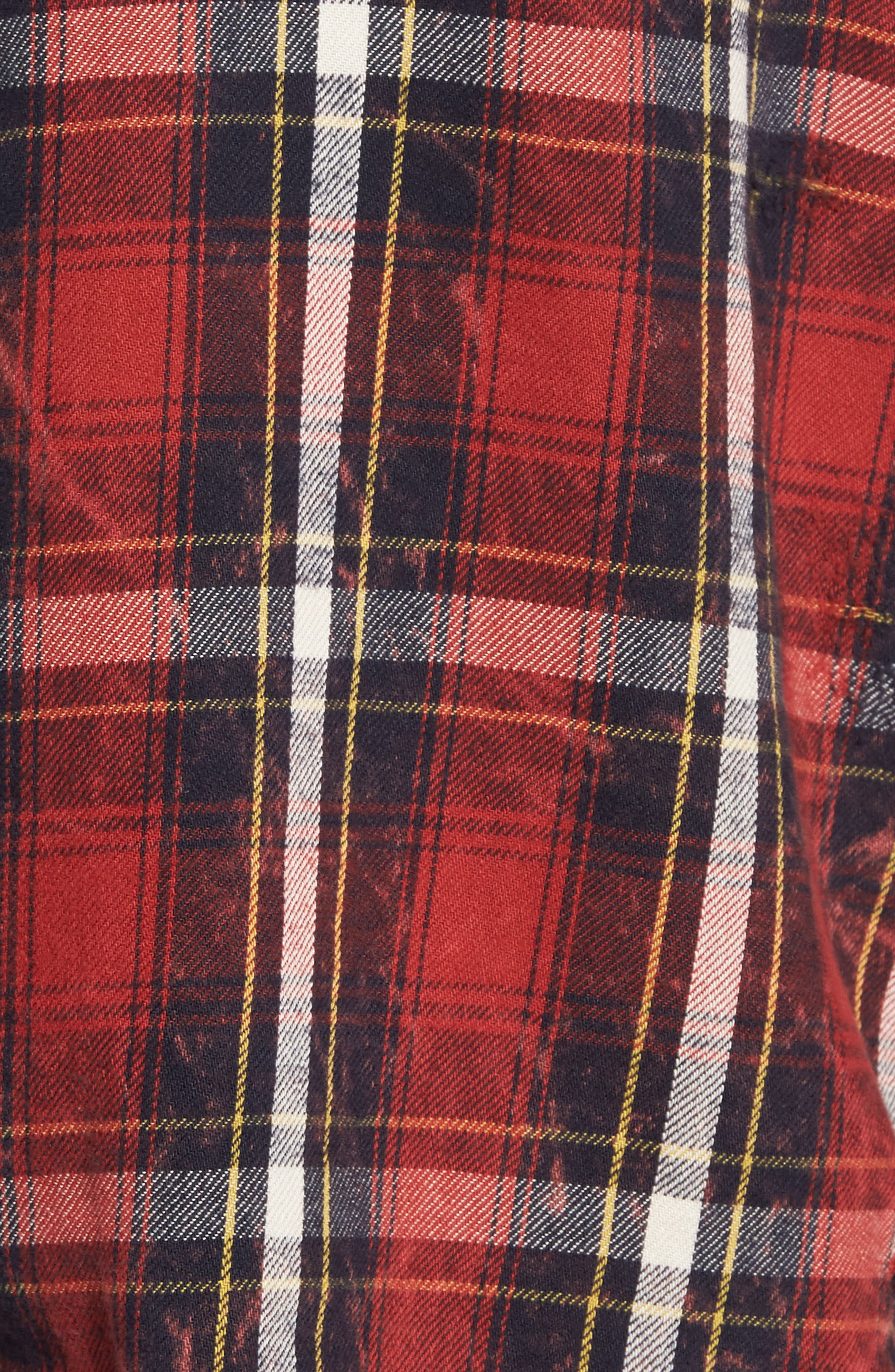 Slim Fit Plaid Sport Shirt,                             Alternate thumbnail 9, color,