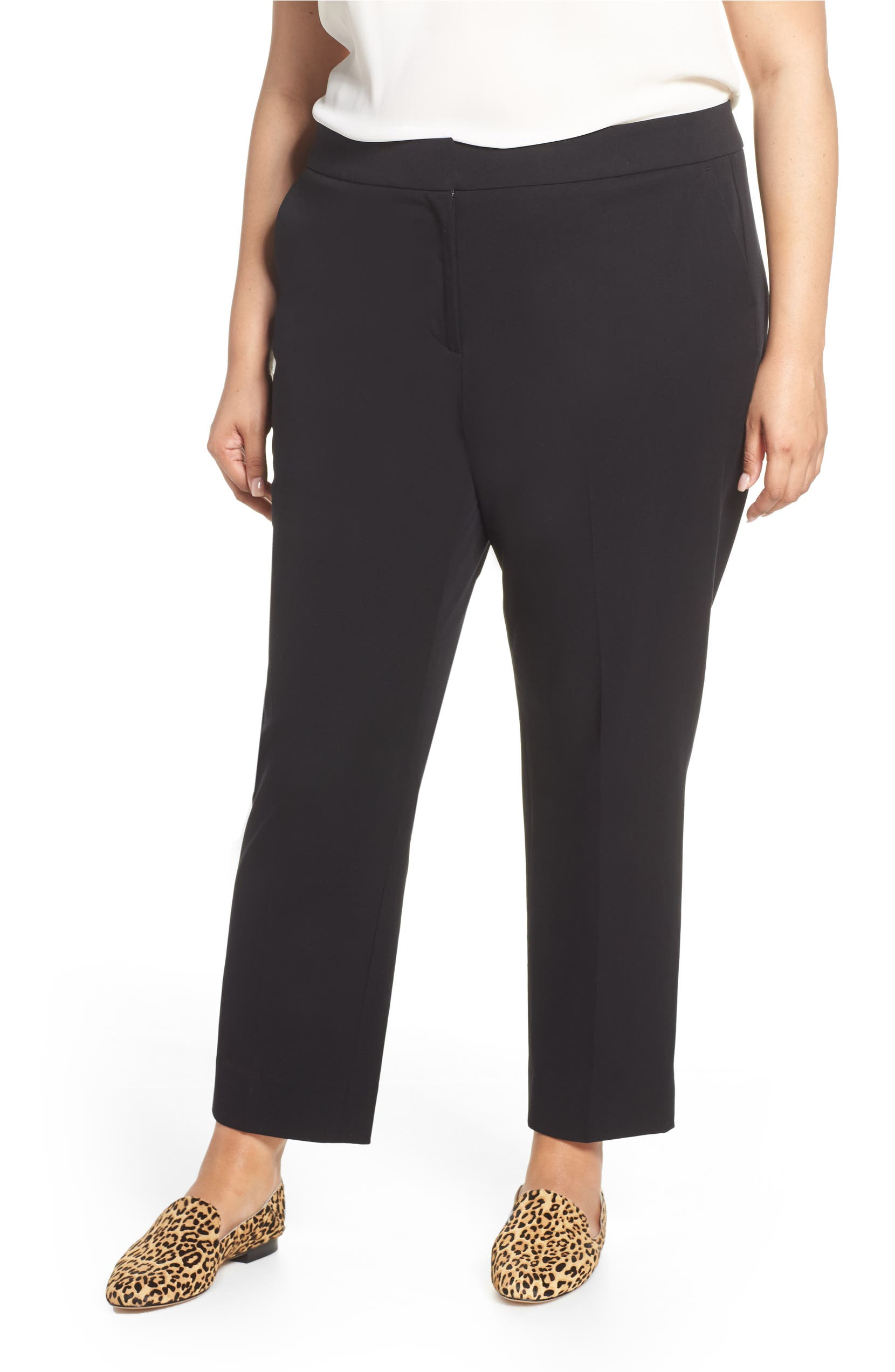 4c5fc984b5e Sejour Straight Leg Ankle Pants (Plus Size)