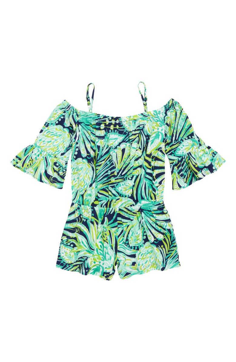 0005d4eeb Lilly Pulitzer® Mini Calla Off the Shoulder Romper (Toddler Girls ...
