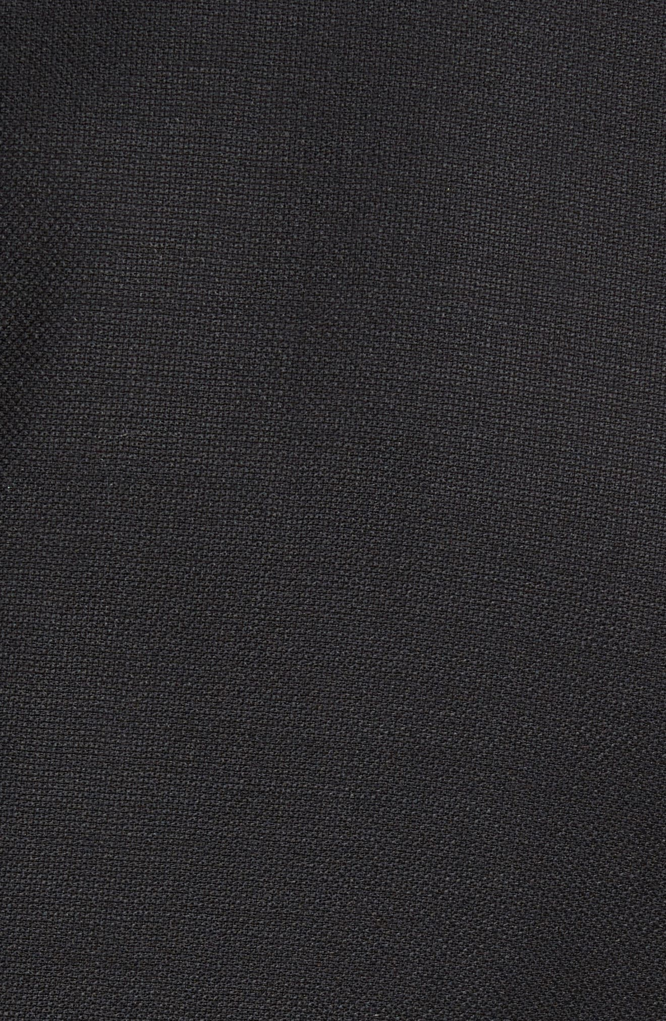 Flynn Classic Fit Wool Blazer,                             Alternate thumbnail 6, color,                             BLACK