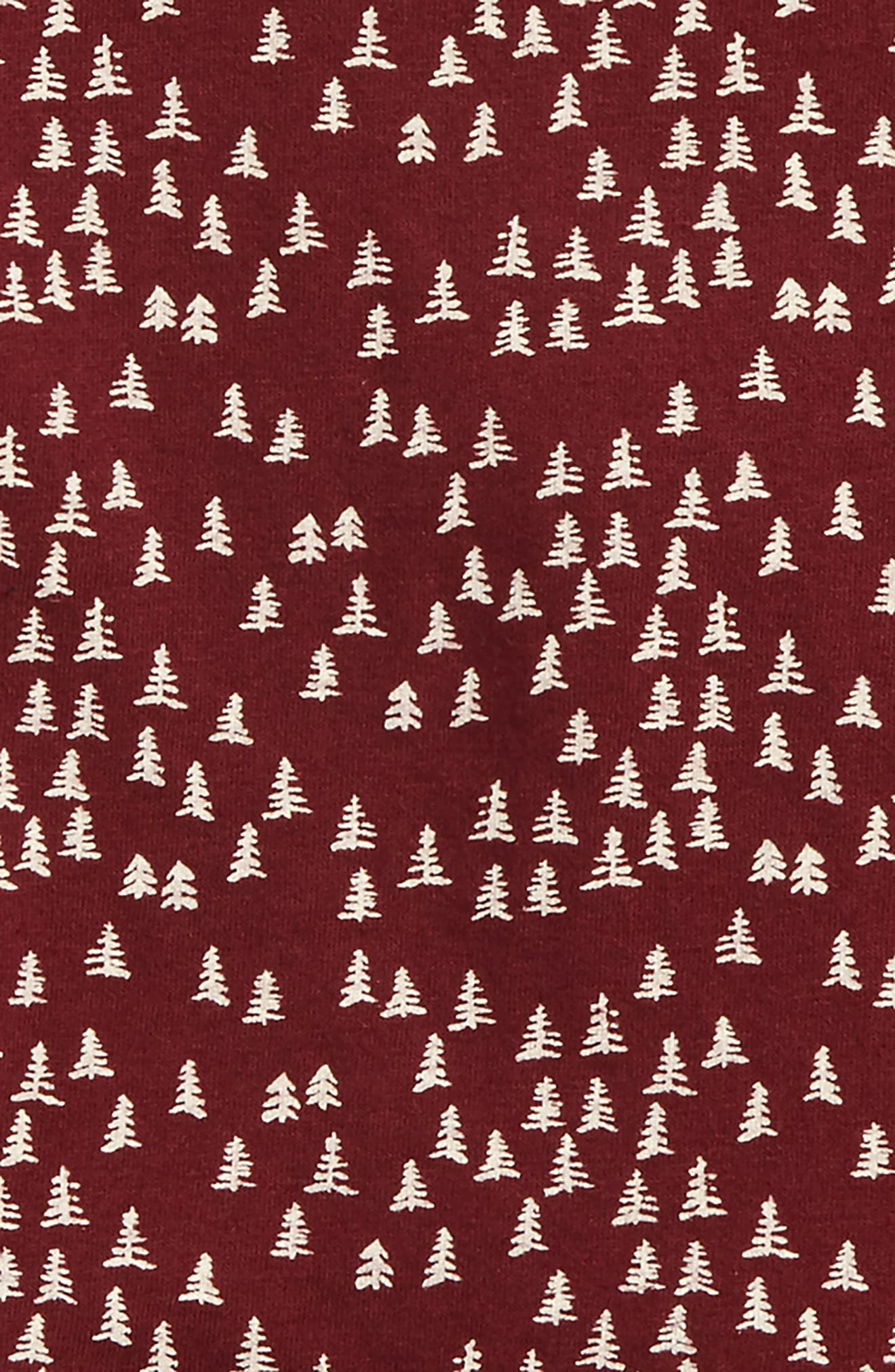 Mini Trees Raglan Tunic & Leggings Set,                             Alternate thumbnail 2, color,                             524