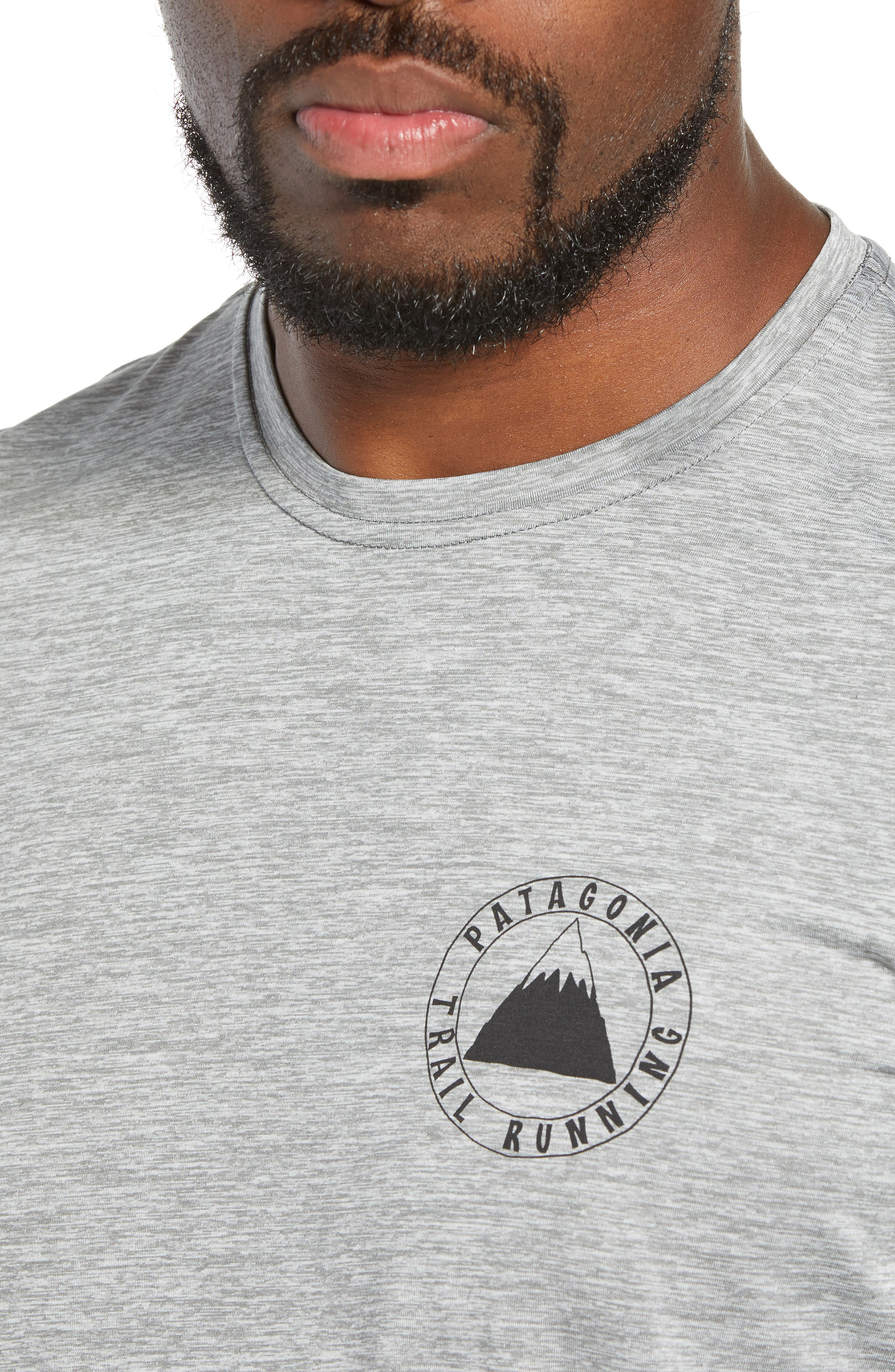 Capilene<sup>®</sup> Daily Regular Fit T-Shirt,                             Alternate thumbnail 4, color,                             TRAIL MYSTIC FEATHER GREY