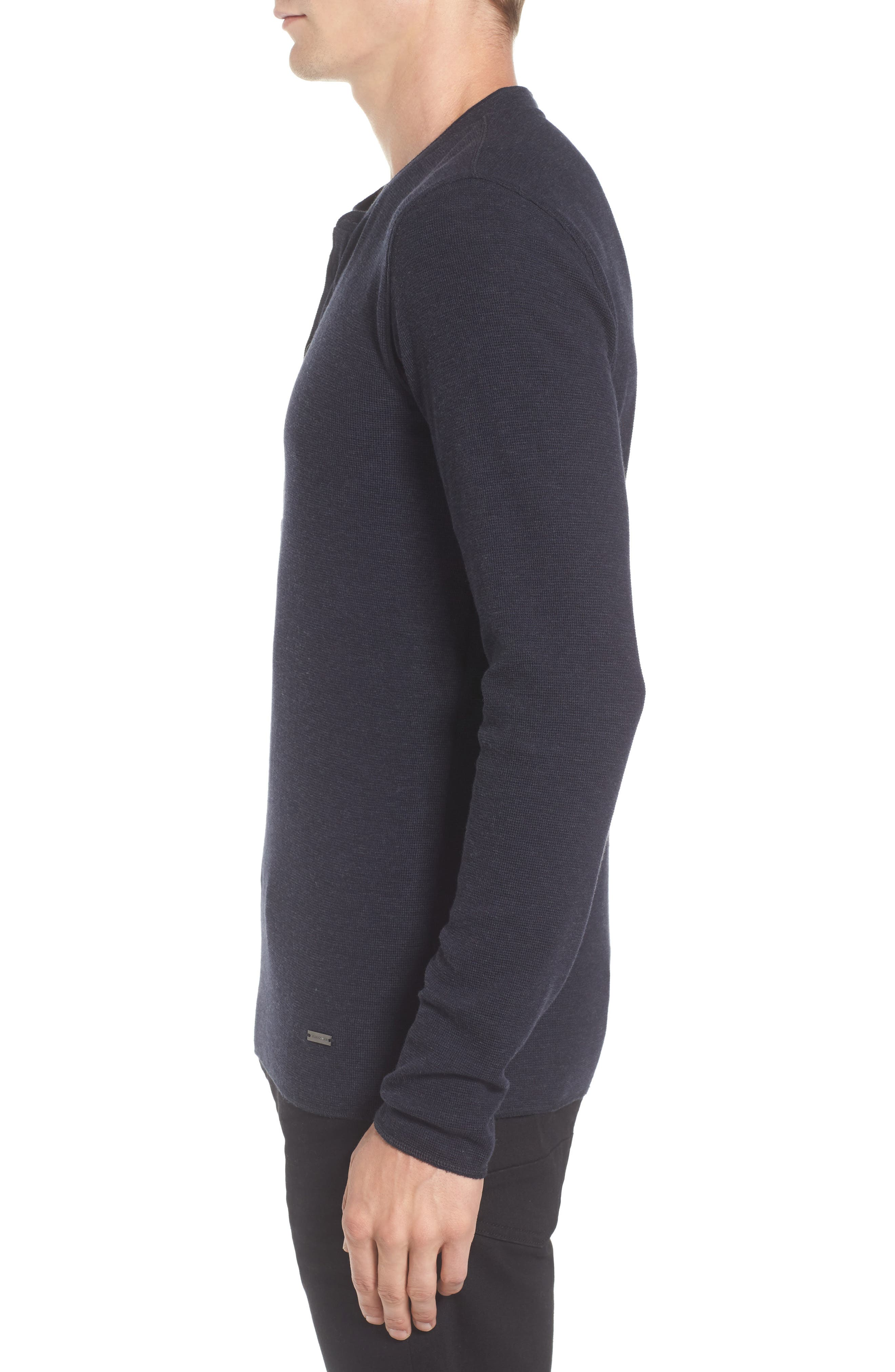 Topsider Thermal Henley,                             Alternate thumbnail 11, color,