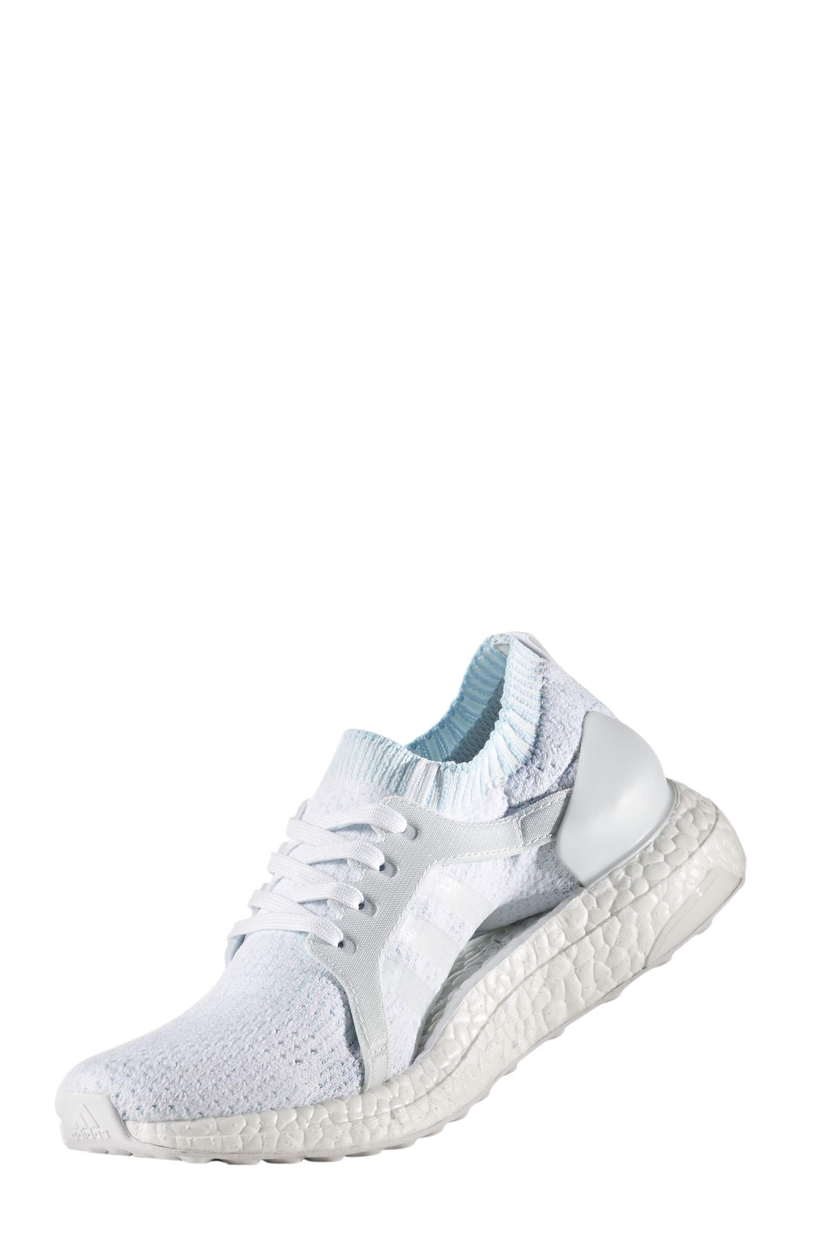 by Stella McCartney UltraBoost x Parley Running Shoe,                             Alternate thumbnail 32, color,