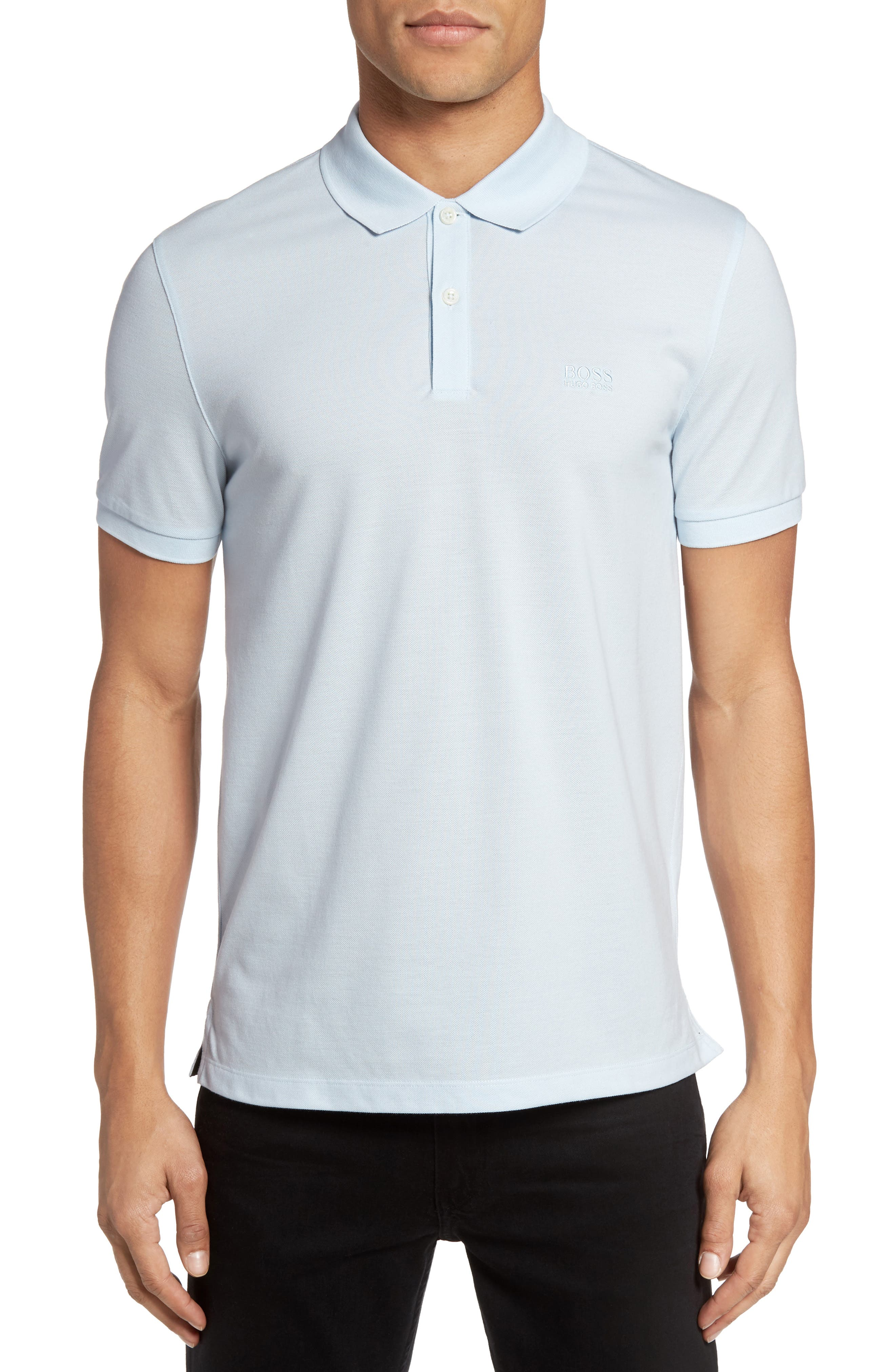 'Pallas' Regular Fit Logo Embroidered Polo Shirt,                             Alternate thumbnail 31, color,