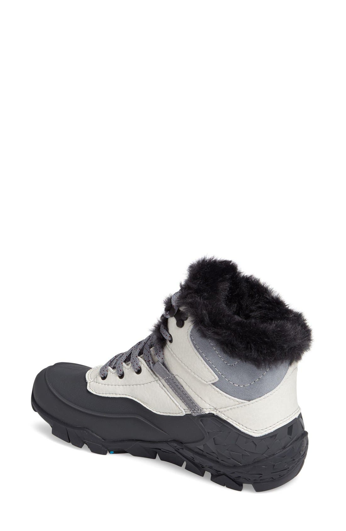 Aurora 6 Waterproof Faux Fur Lined Boot,                             Alternate thumbnail 8, color,