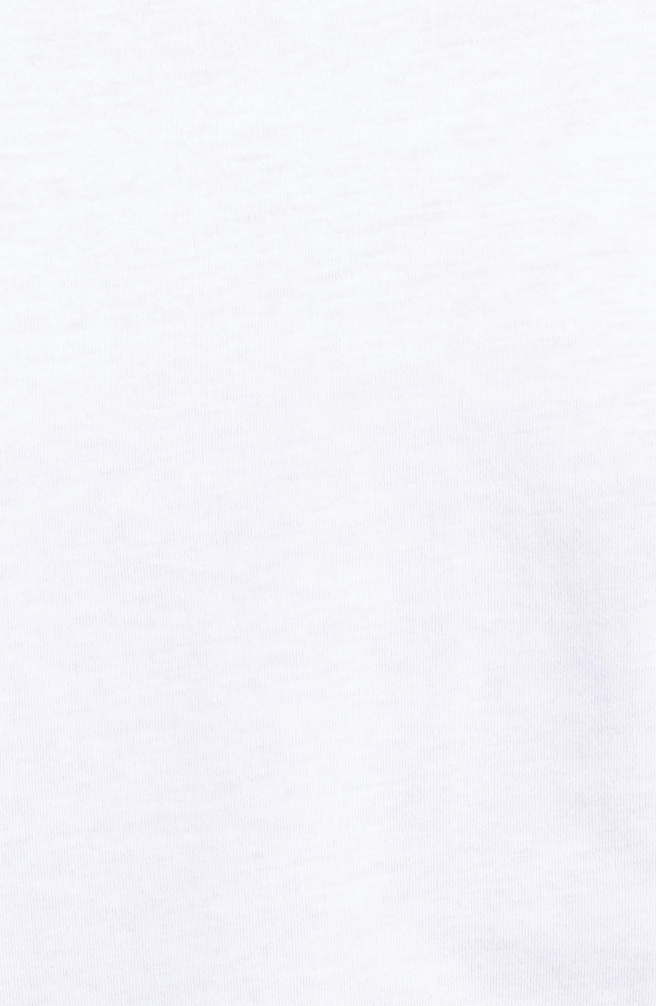 3-Pack Crewneck Cotton T-Shirt,                             Alternate thumbnail 6, color,                             WHITE