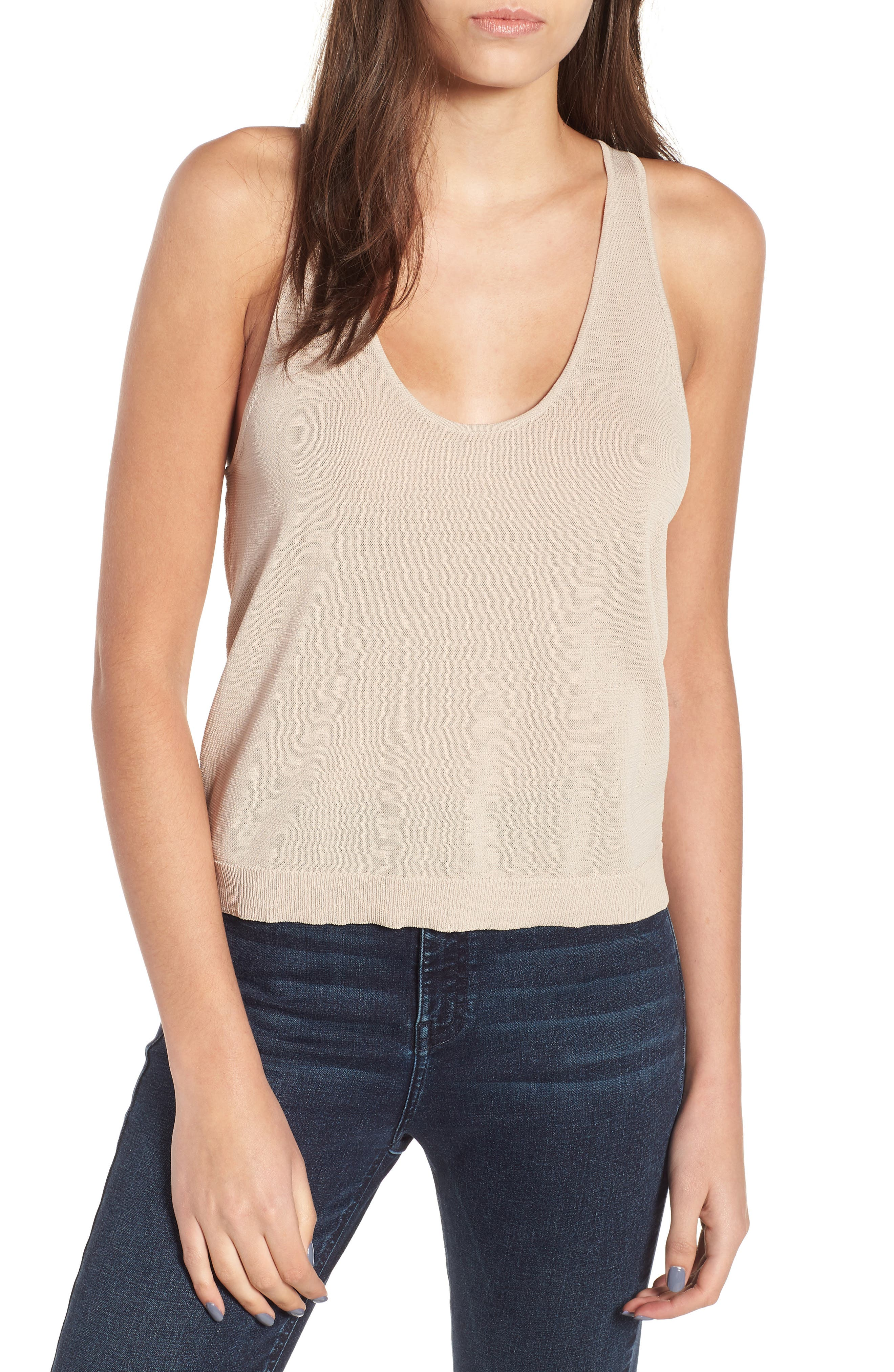Sweater Tank,                         Main,                         color,