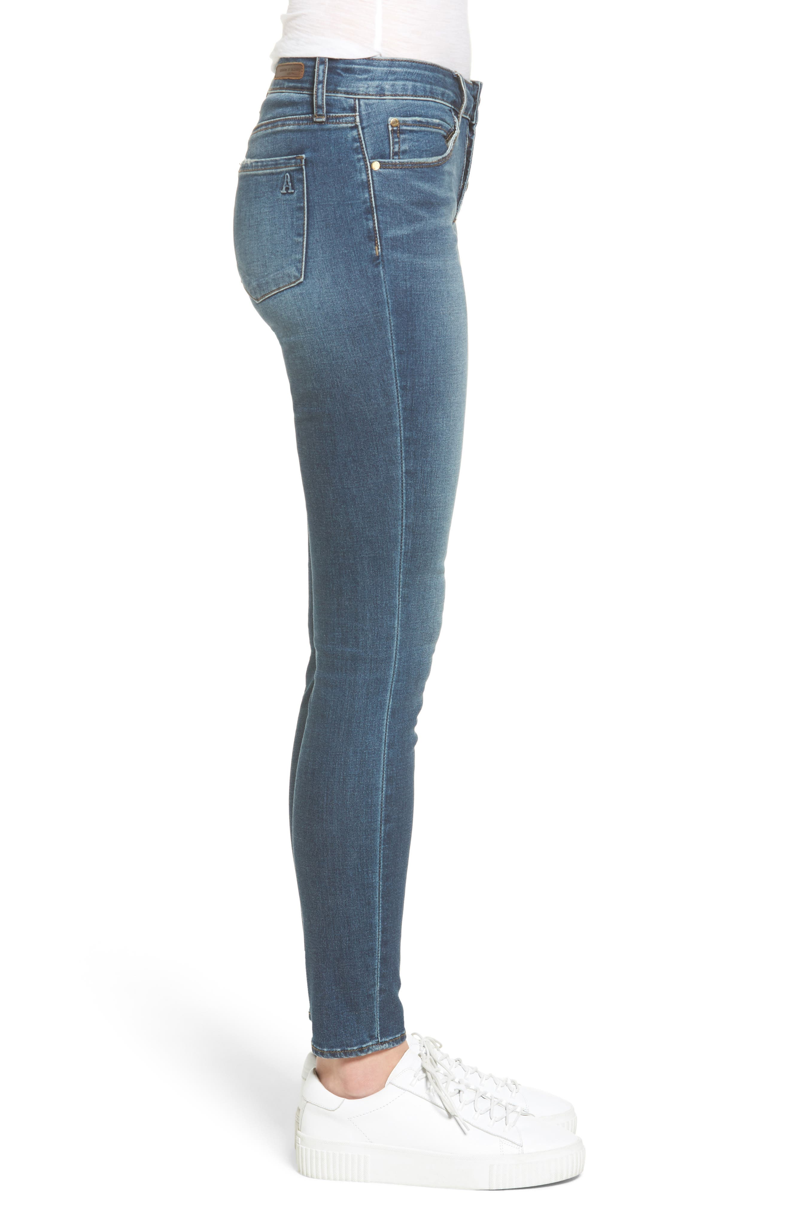 Britney Skinny Jeans,                             Alternate thumbnail 3, color,                             458
