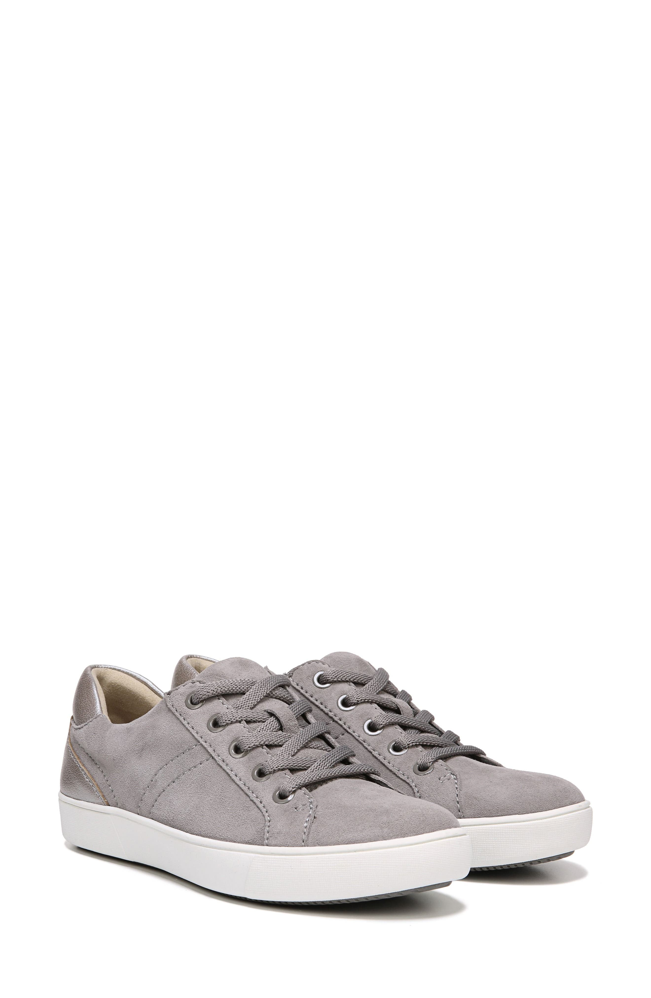 NATURALIZER,                             Morrison Sneaker,                             Alternate thumbnail 7, color,                             GREY SUEDE