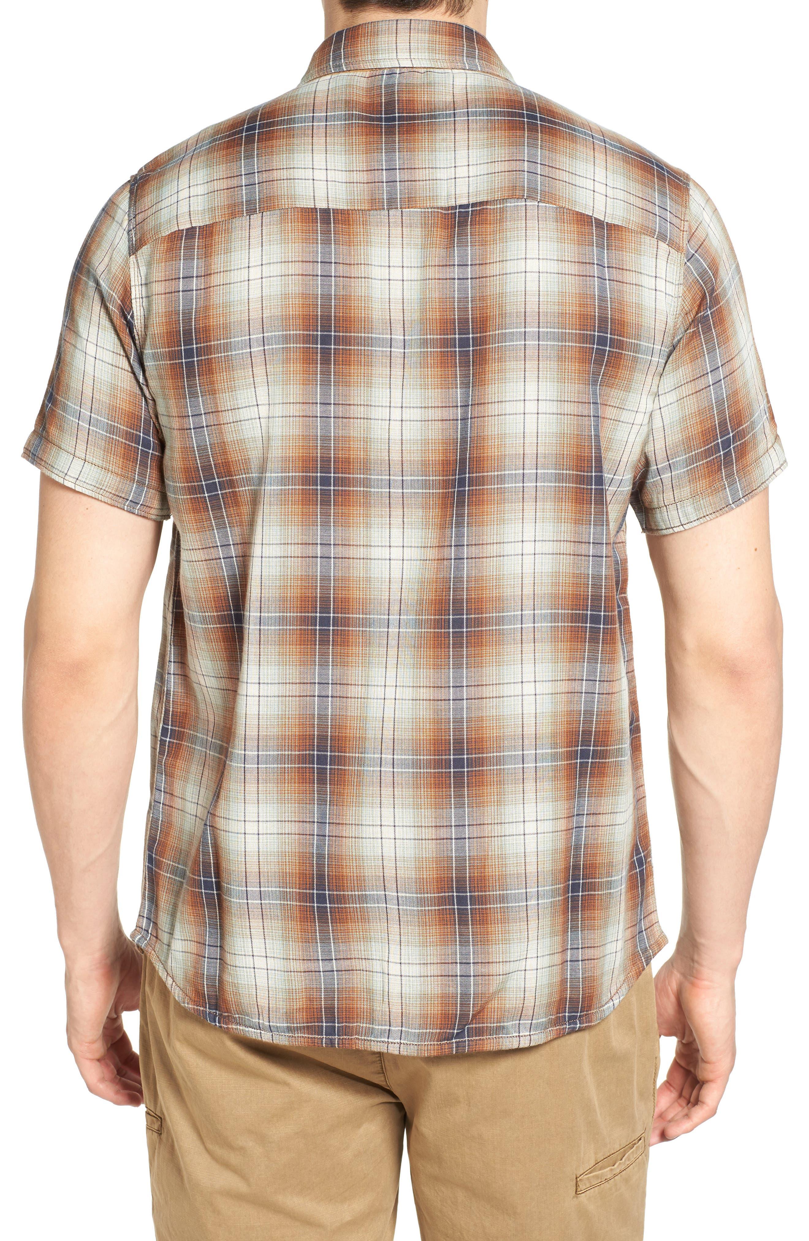 Badlands Regular Fit Reversible Plaid Sport Shirt,                             Alternate thumbnail 2, color,