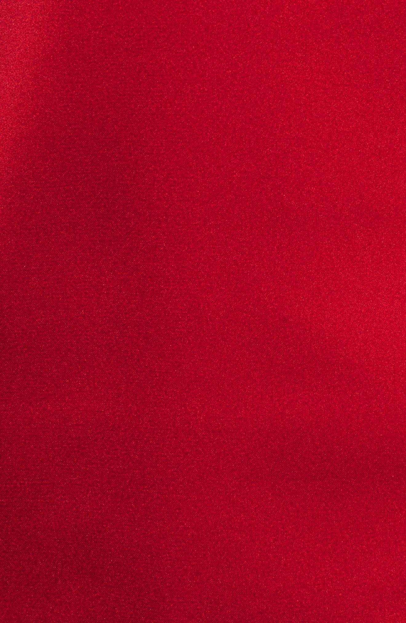 Long Sleeve Tie Neck Blouse,                             Alternate thumbnail 5, color,