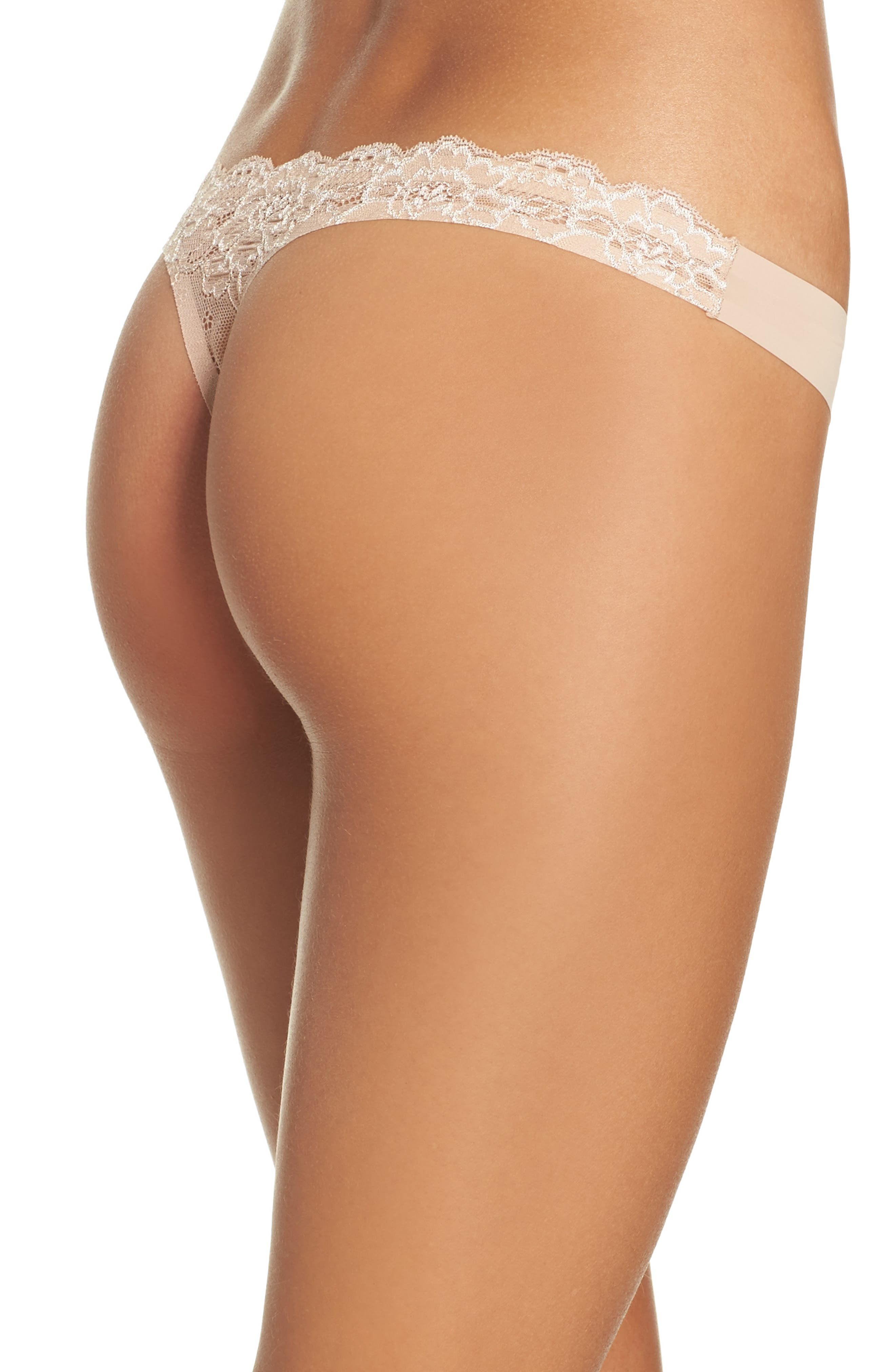 Intimately FP Smooth Thong,                             Alternate thumbnail 11, color,