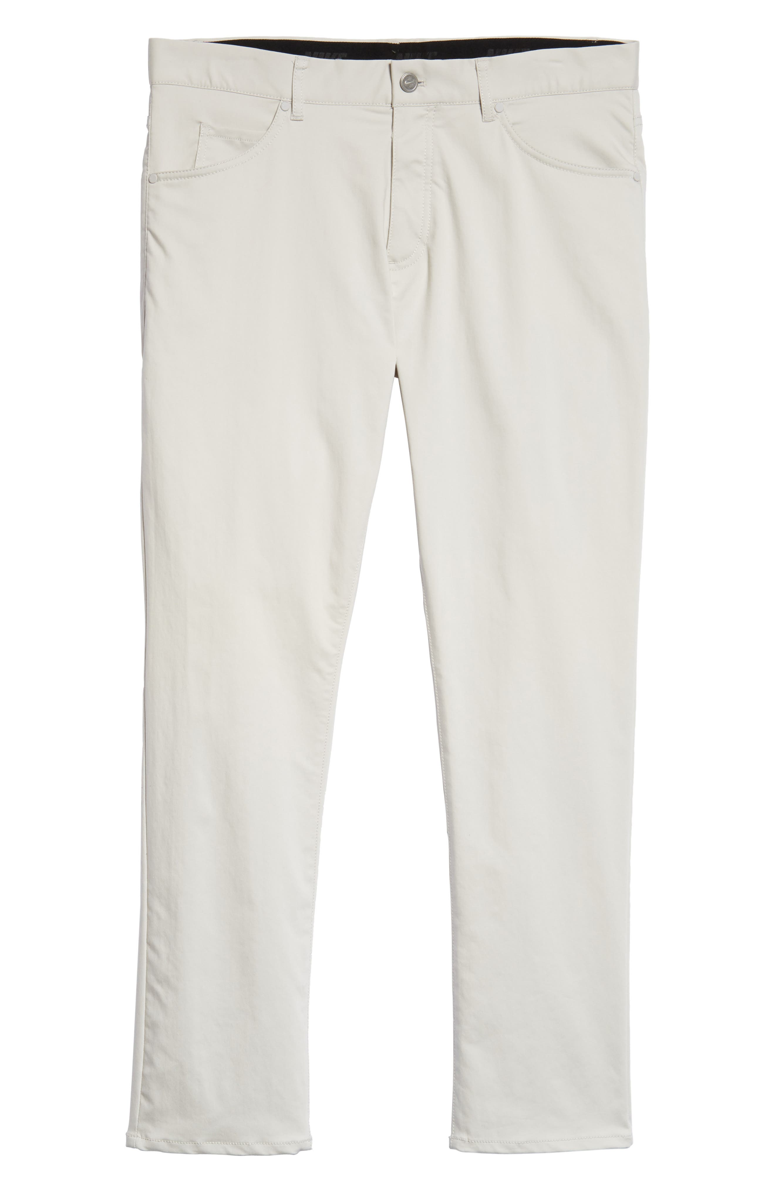 Dry Flex Slim Fit Golf Pants,                             Alternate thumbnail 6, color,                             LIGHT BONE/ WHITE