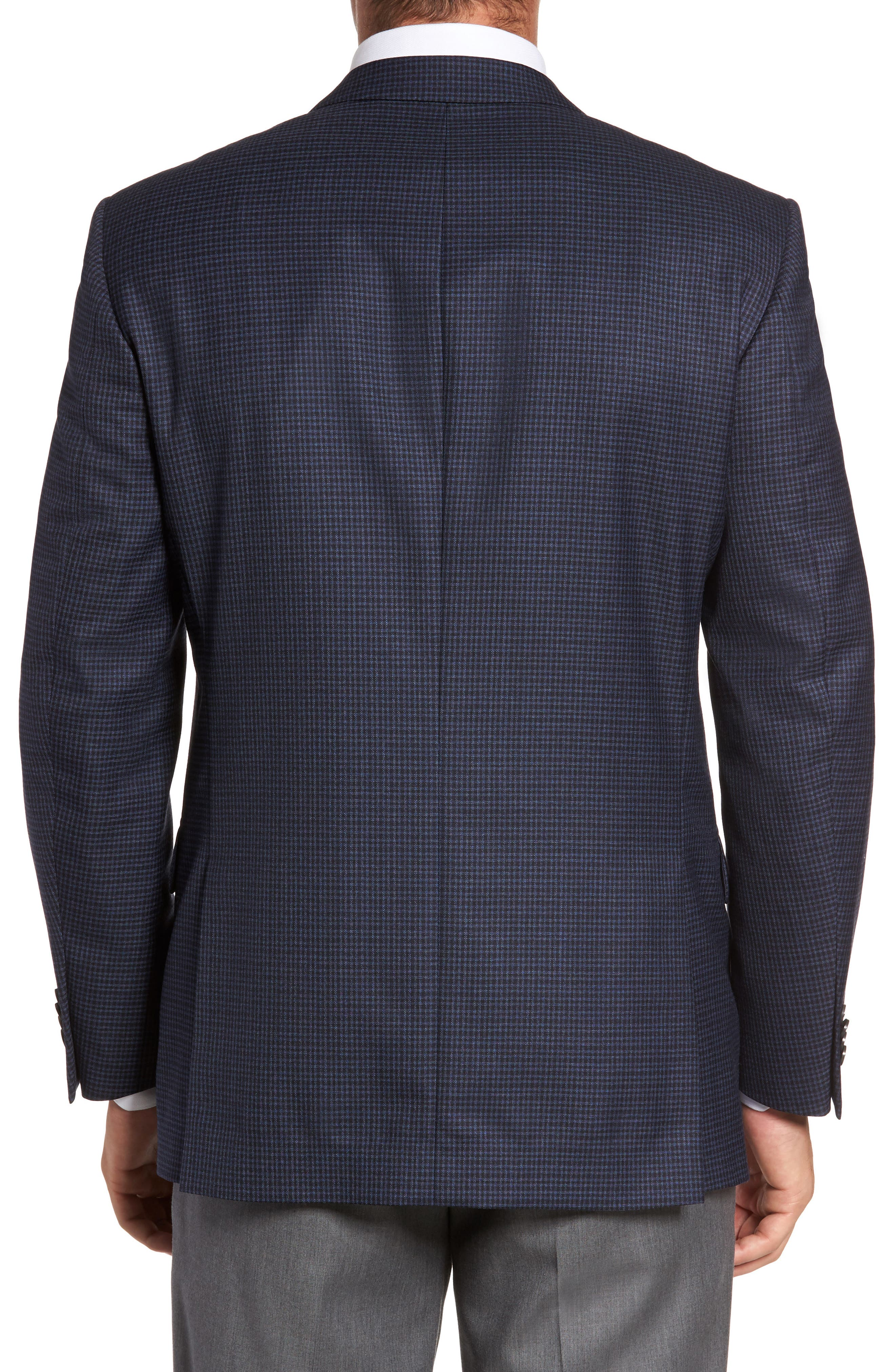 Flynn Classic Fit Check Wool Sport Coat,                             Alternate thumbnail 2, color,                             410