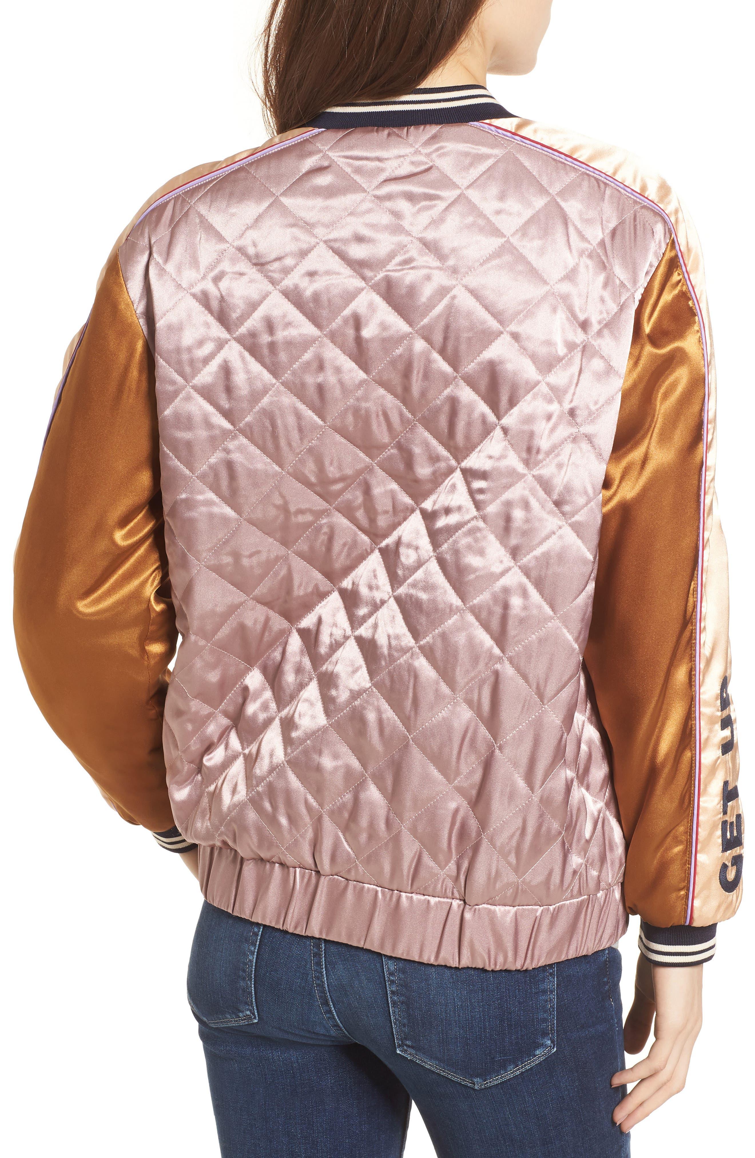 Reversible Varsity Jacket,                             Alternate thumbnail 3, color,                             650