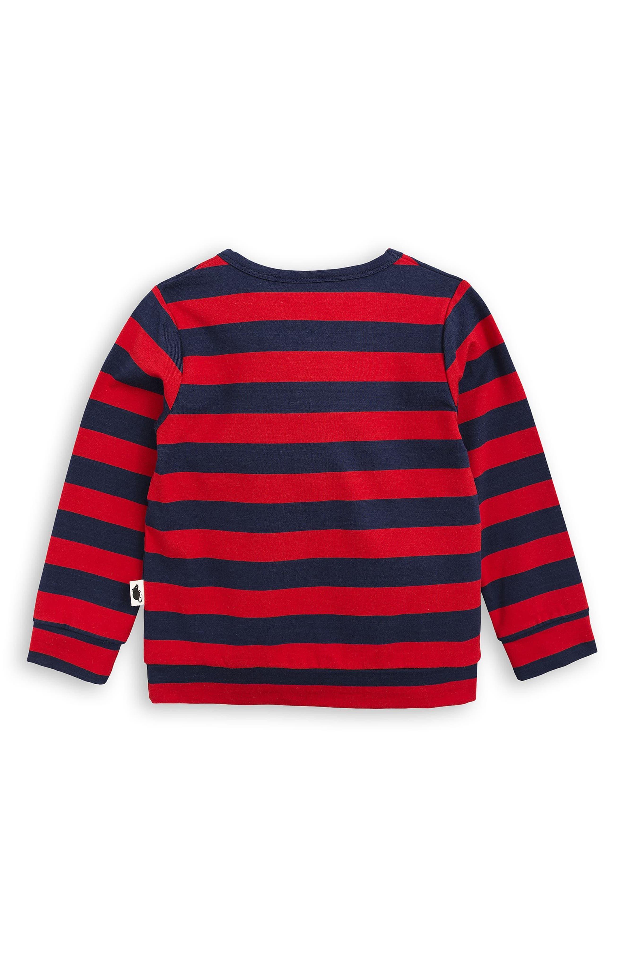 Stripe T-Shirt,                             Alternate thumbnail 2, color,                             600