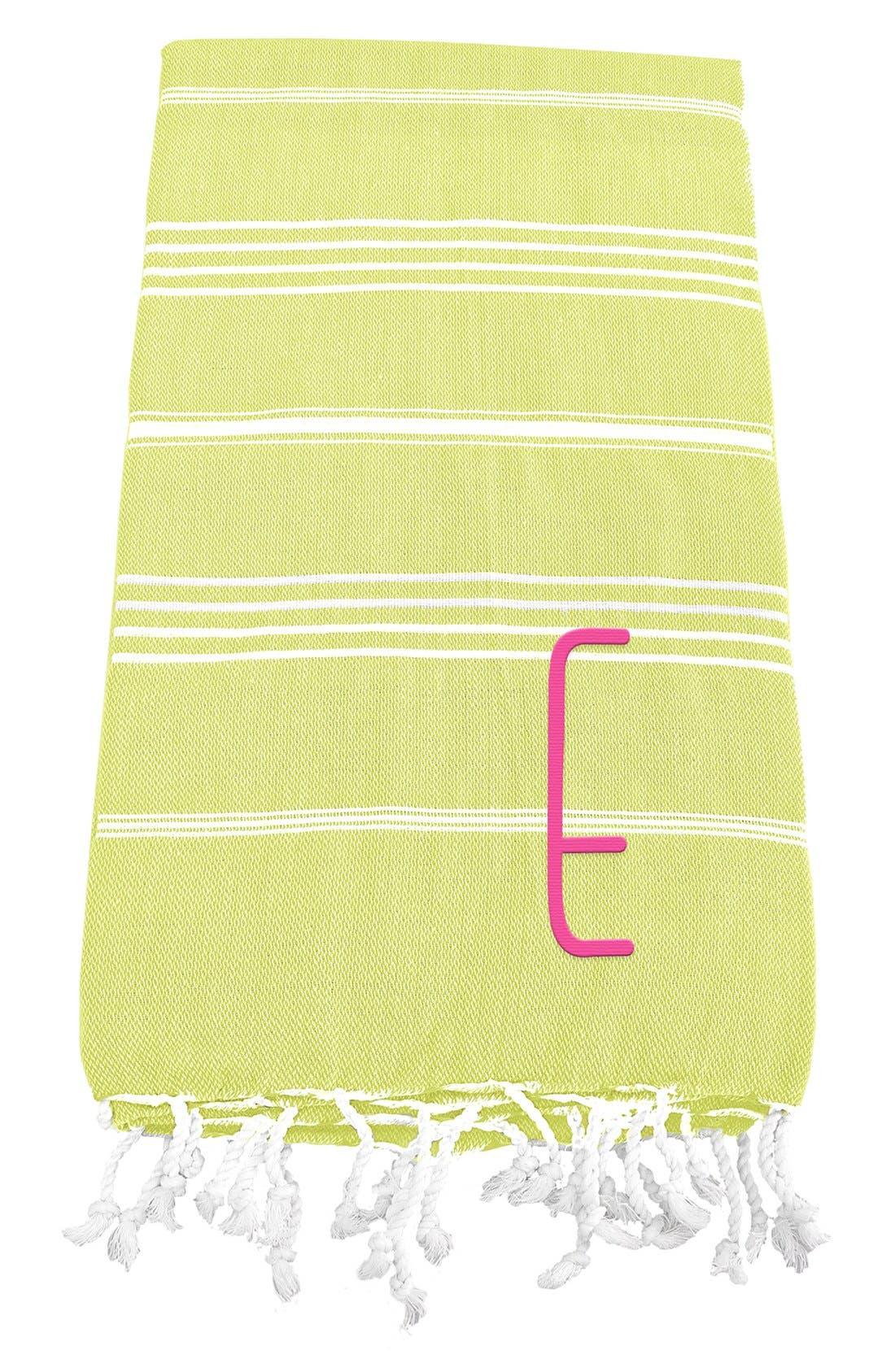 Monogram Turkish Cotton Towel,                             Main thumbnail 34, color,
