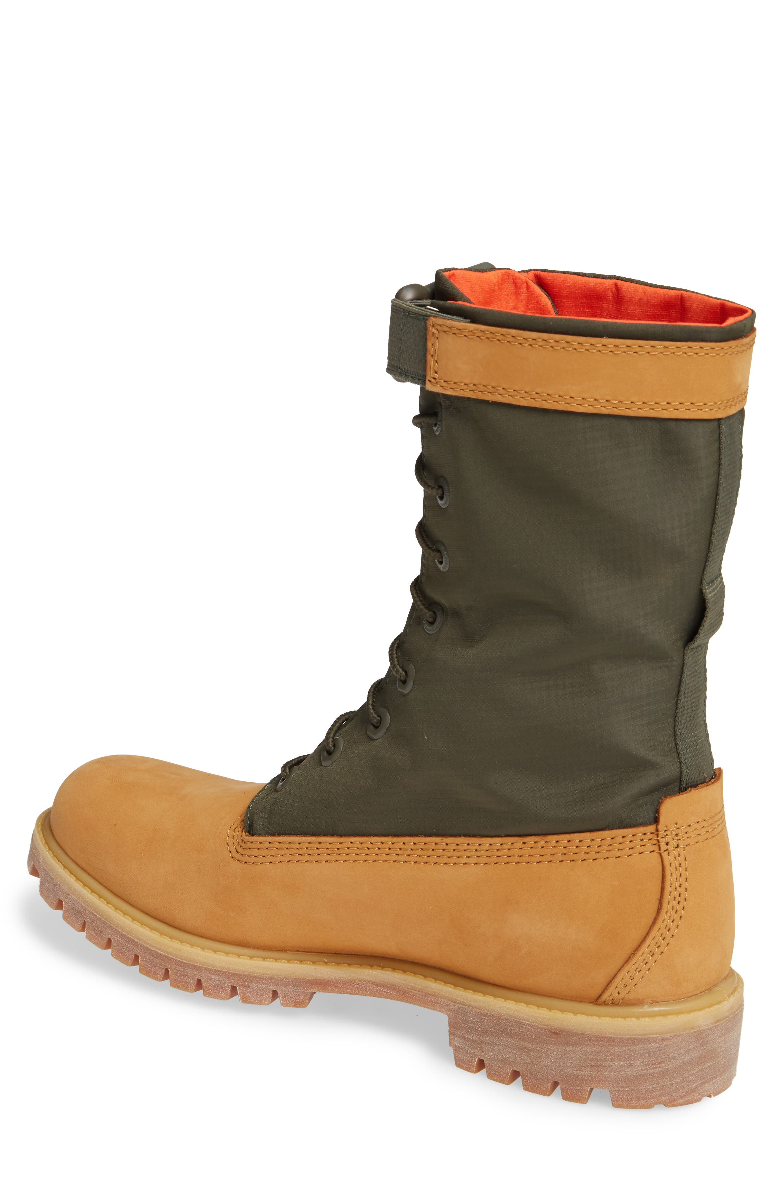 TIMBERLAND,                             Premium Gaiter Plain Toe Boot,                             Alternate thumbnail 2, color,                             231