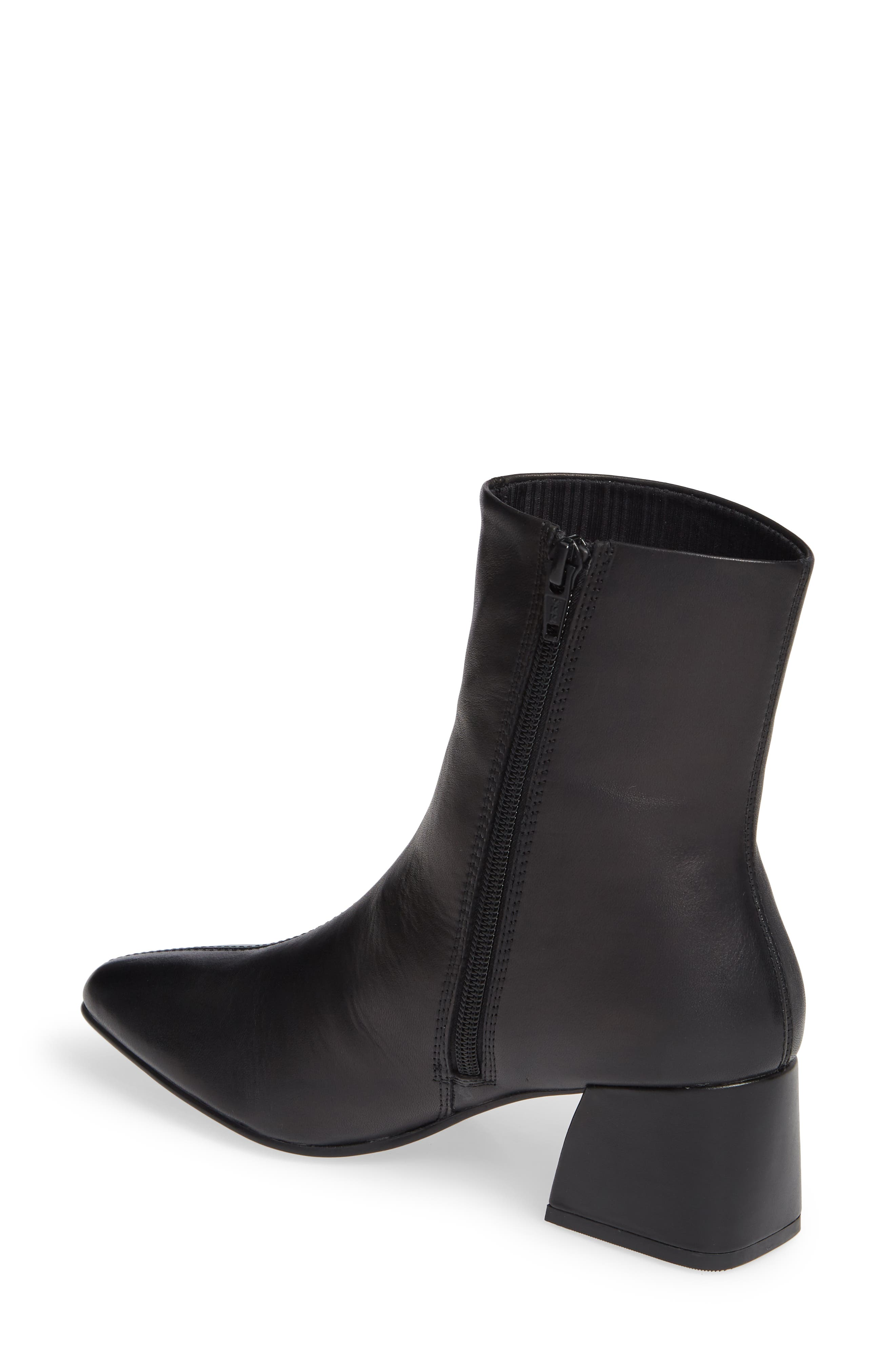 Shoemakers Alice Bootie,                             Alternate thumbnail 2, color,                             BLACK LEATHER