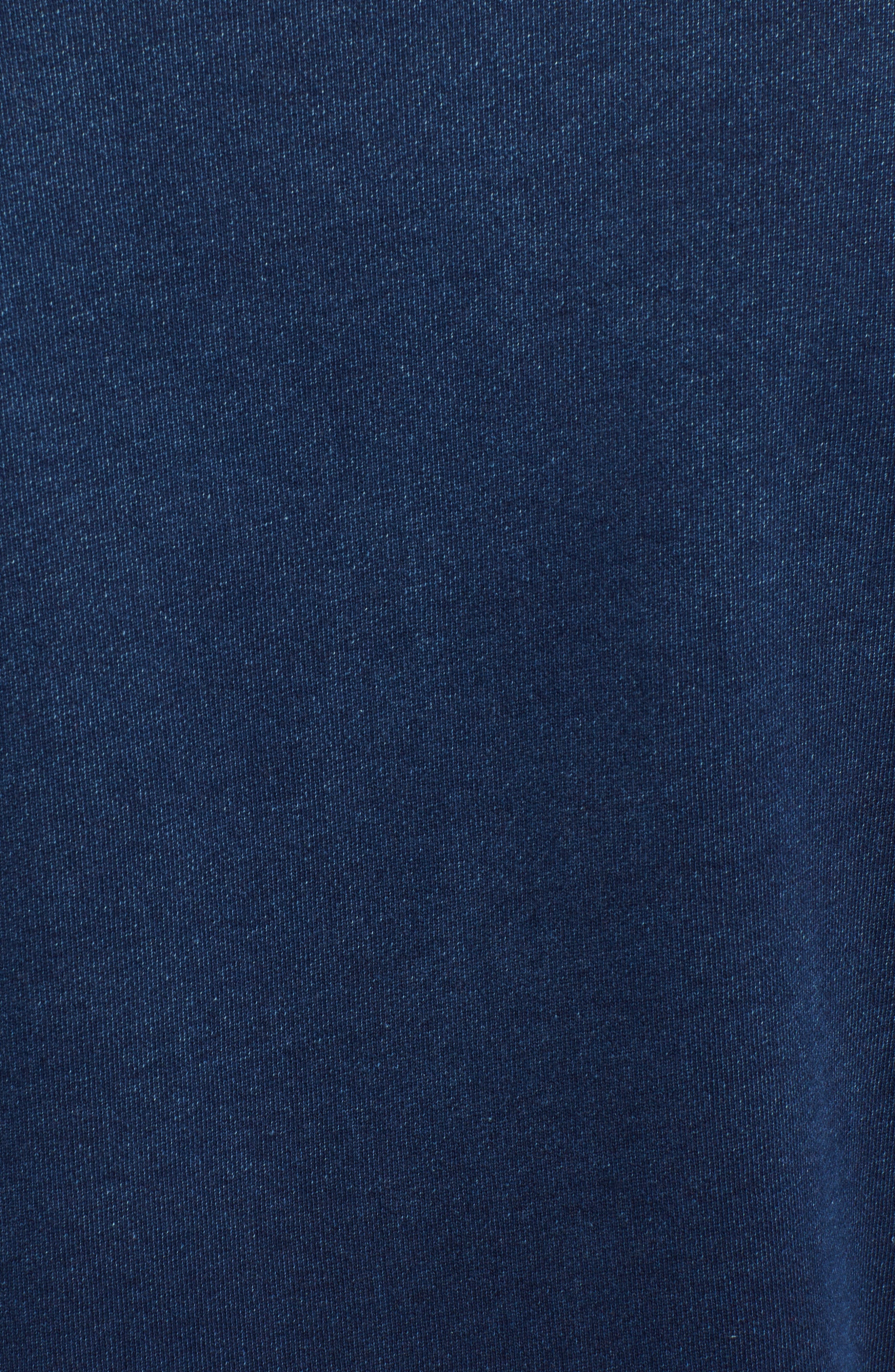 Byron Crewneck Cotton Pocket Sweatshirt,                             Alternate thumbnail 5, color,