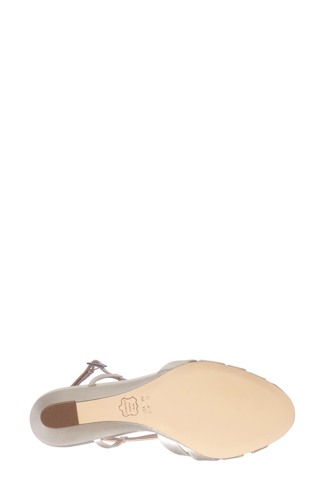 'Voleta' Wedge Sandal,                             Alternate thumbnail 4, color,                             900