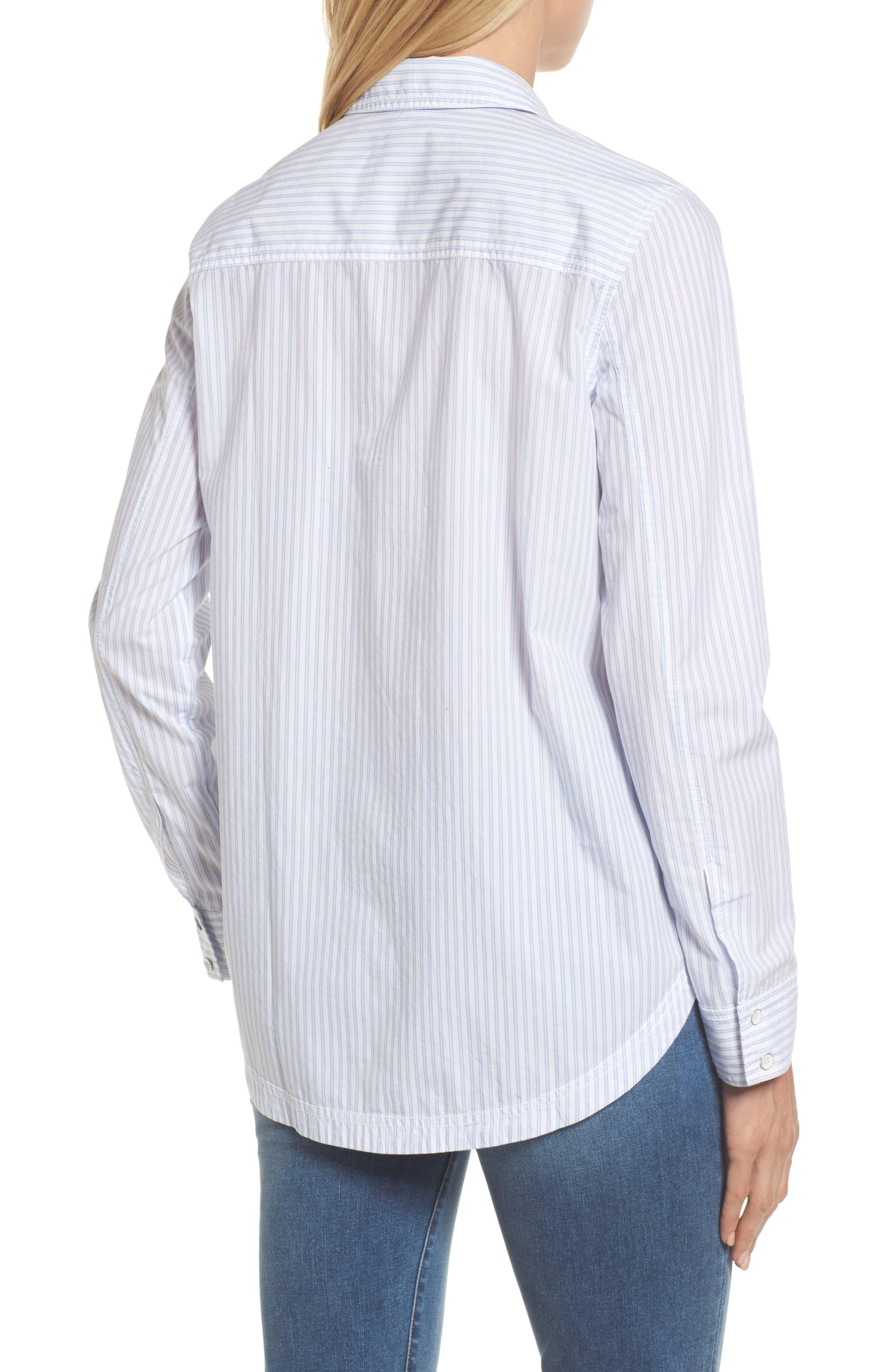 Button Front Pocket Shirt,                             Alternate thumbnail 2, color,                             420