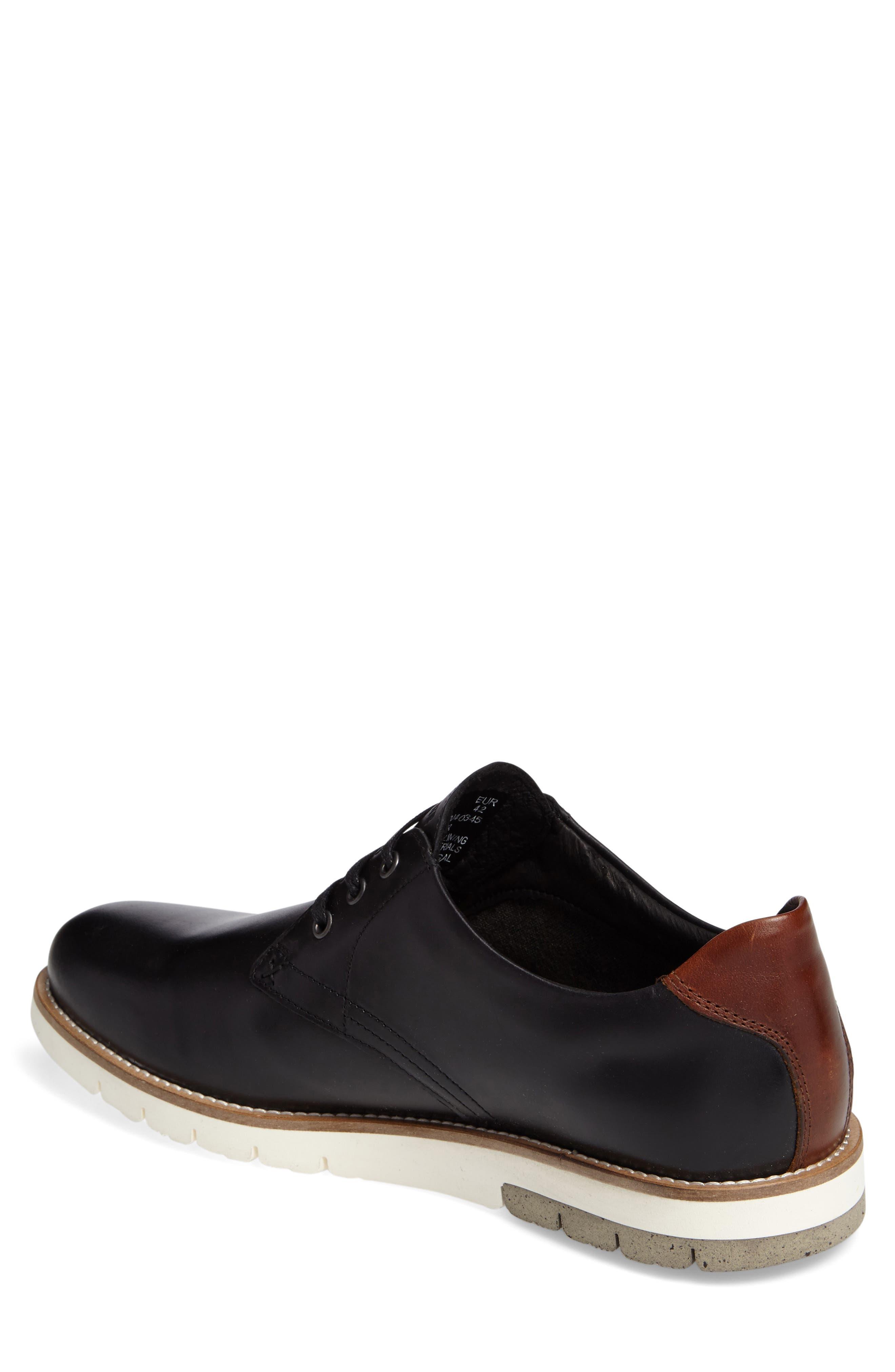 Reuben Plain Toe Derby,                             Alternate thumbnail 2, color,                             001