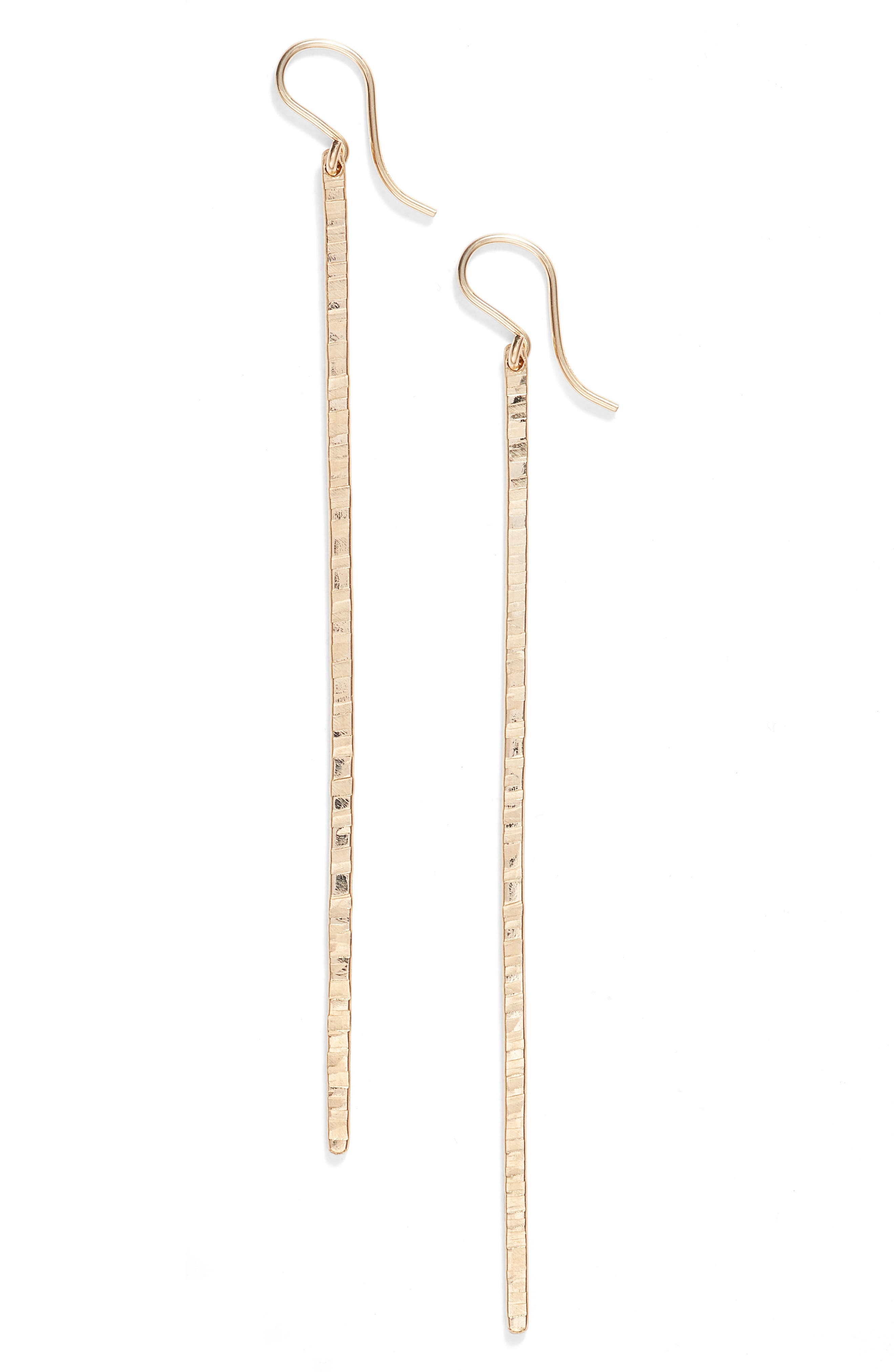 Pure Bar Drop Earrings,                             Main thumbnail 1, color,                             GOLD