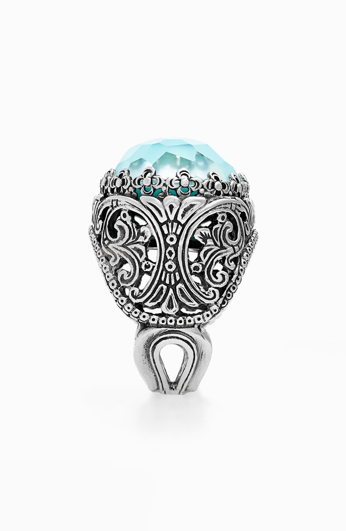 'Aegean' Oval Stone Ring,                             Alternate thumbnail 2, color,                             040
