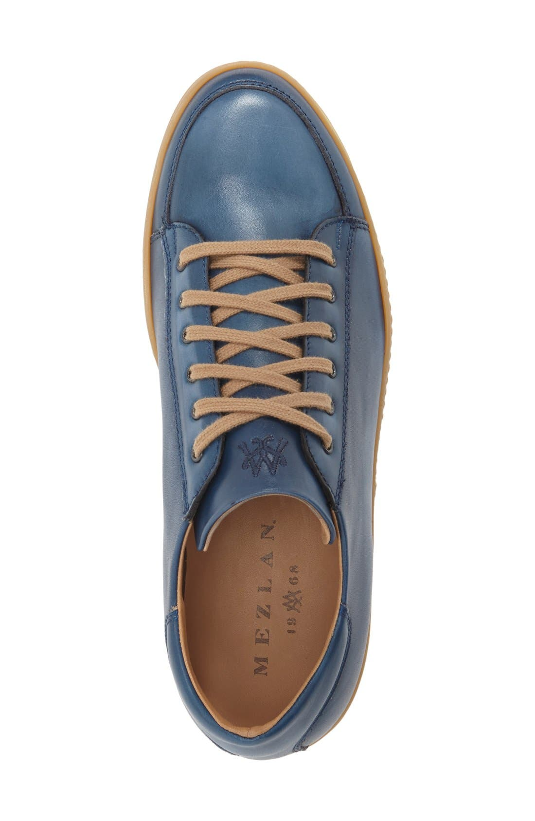 'Masi' Lace-Up Sneaker,                             Alternate thumbnail 3, color,                             BLUE