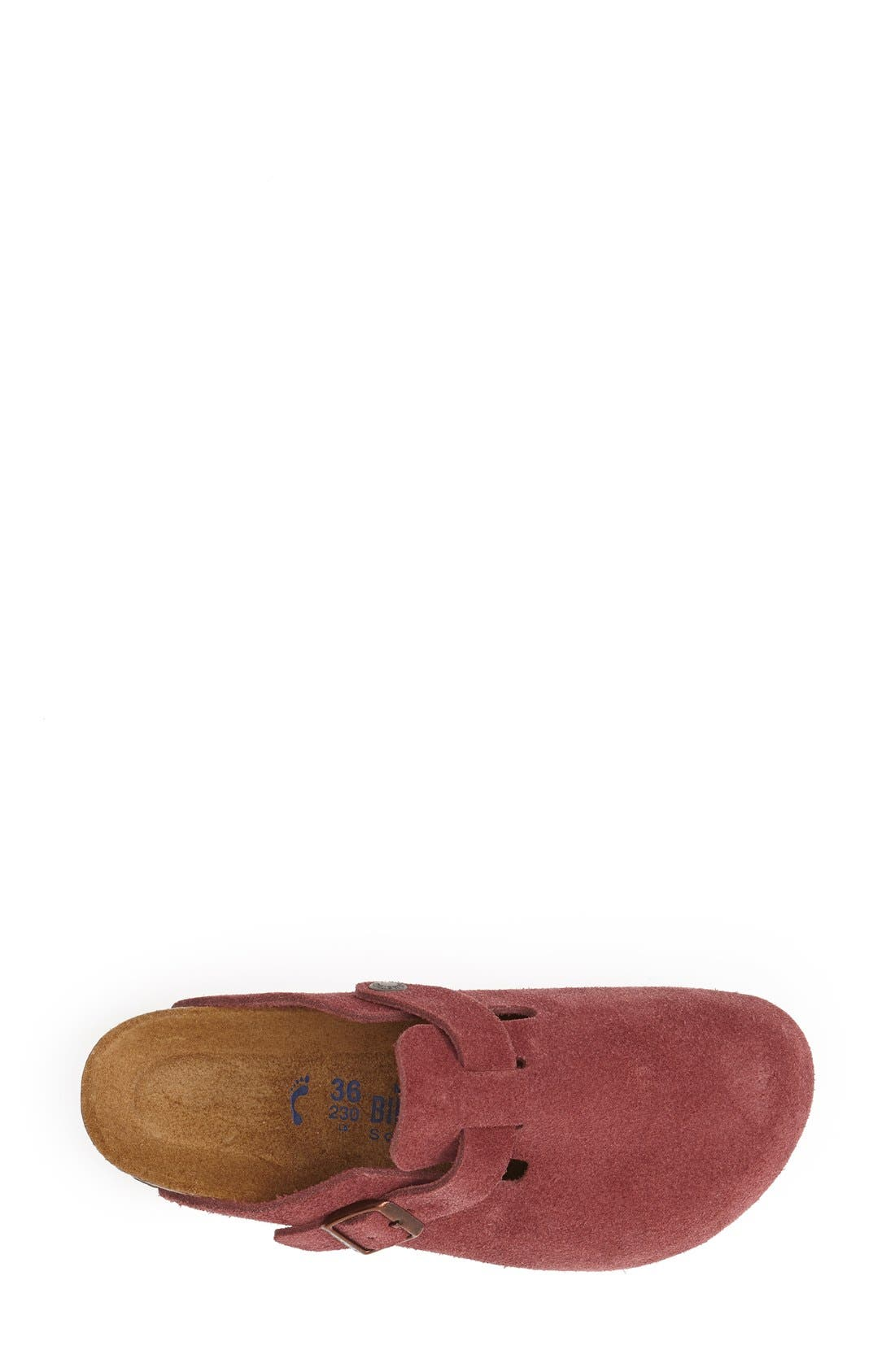 'Boston' Classic Oiled Leather Clog,                             Alternate thumbnail 44, color,