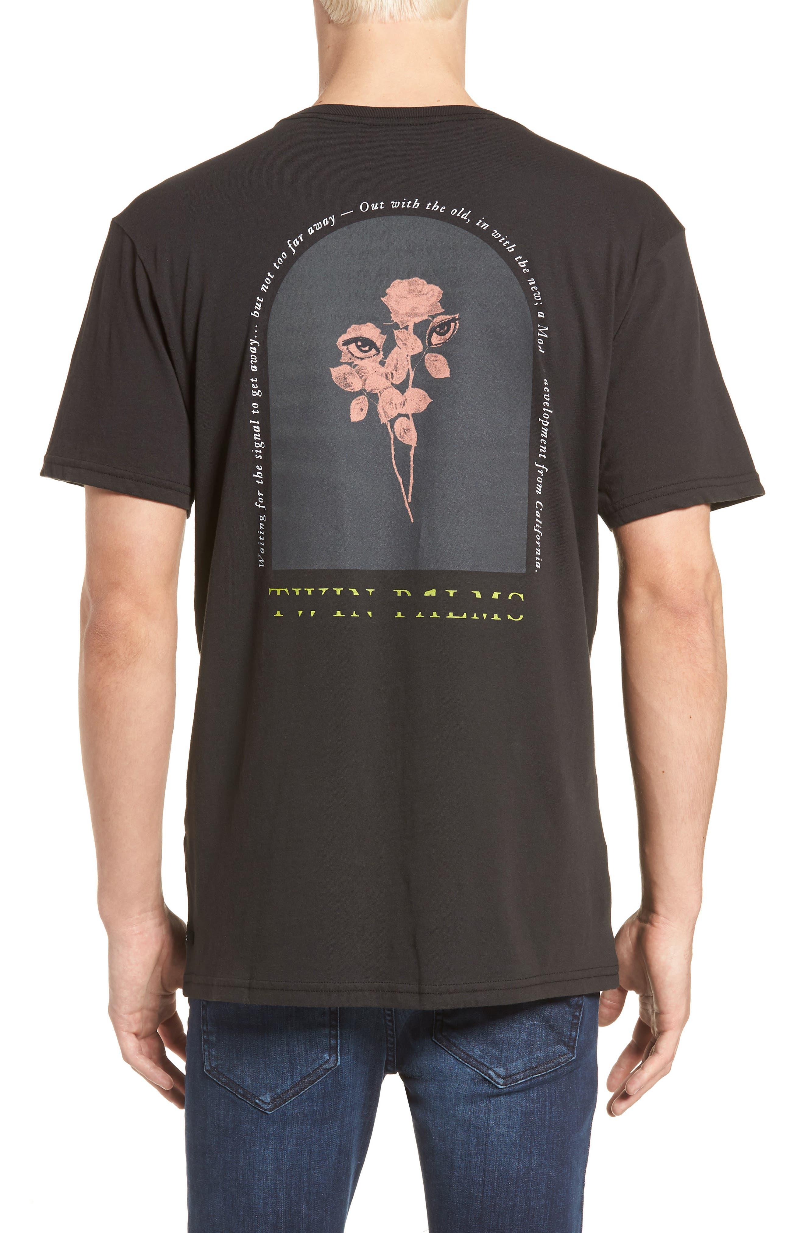 Twin Palms Graphic T-Shirt,                             Alternate thumbnail 5, color,