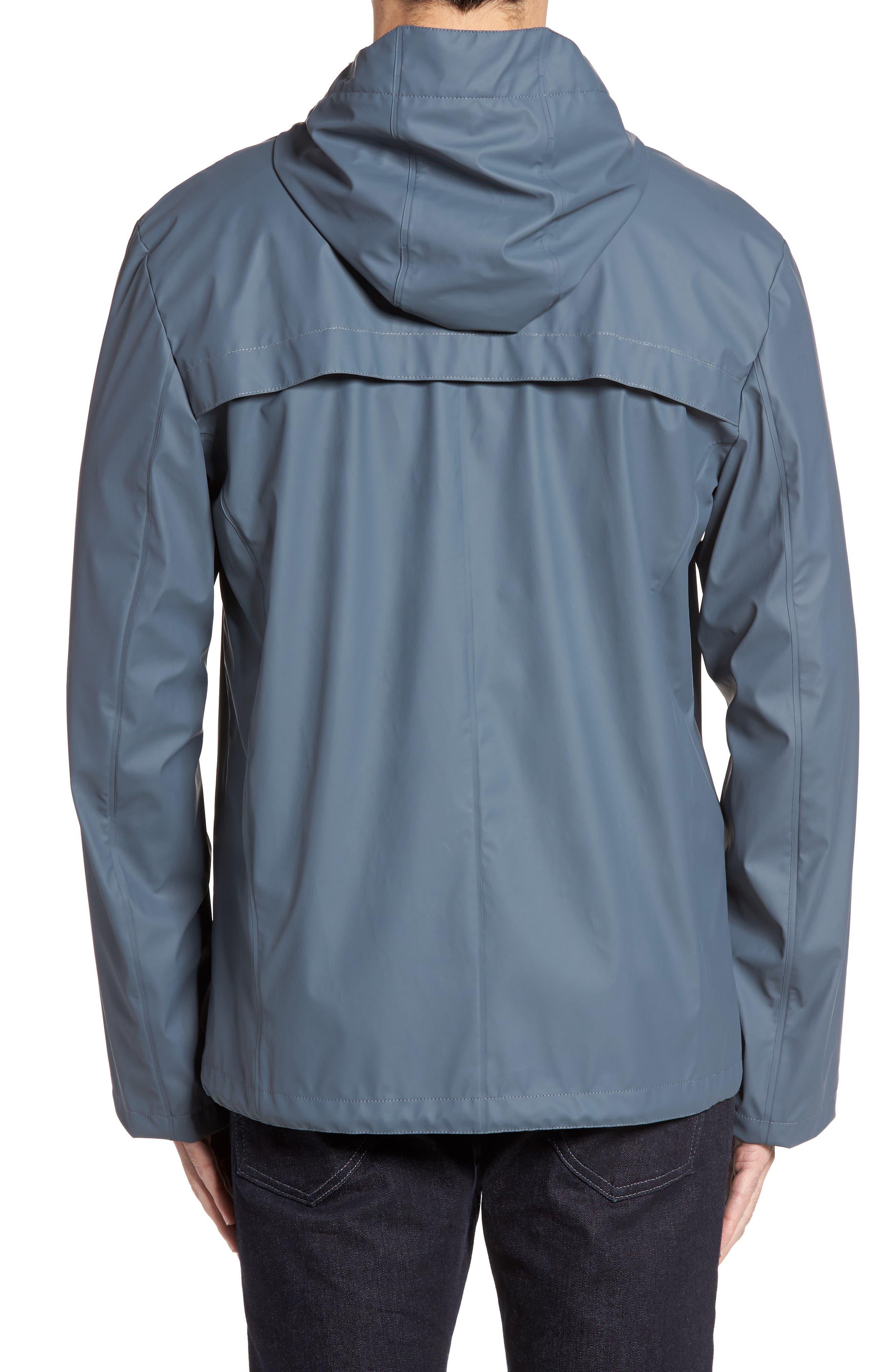 Rubberized Hooded Jacket,                             Alternate thumbnail 5, color,