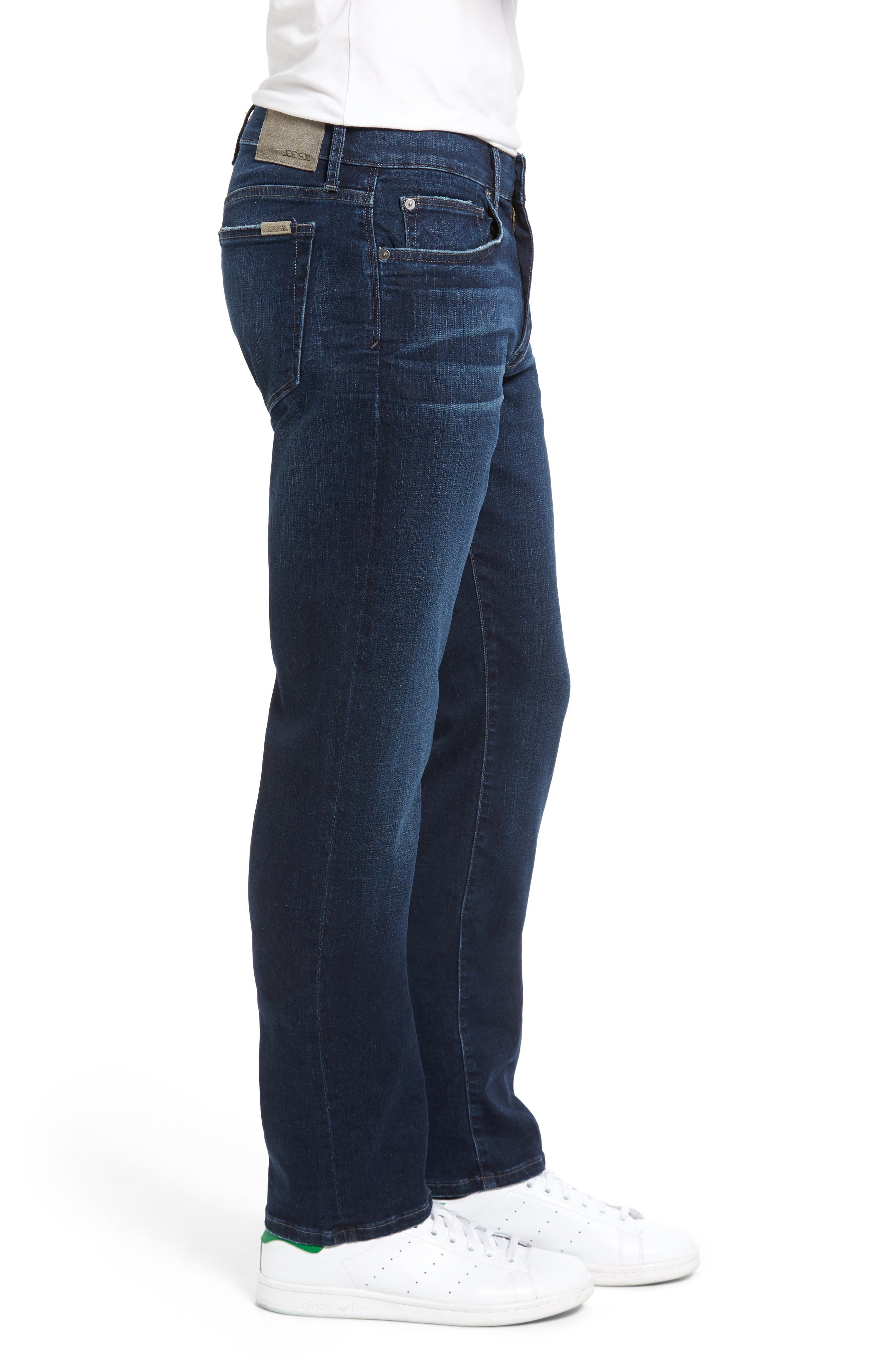 Brixton Kinetic Slim Straight Leg Jeans,                             Alternate thumbnail 3, color,