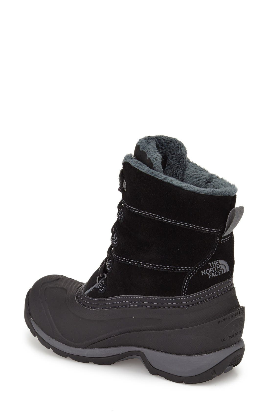 'Chilkat III' Waterproof Insulated Snow Boot,                             Alternate thumbnail 2, color,                             001