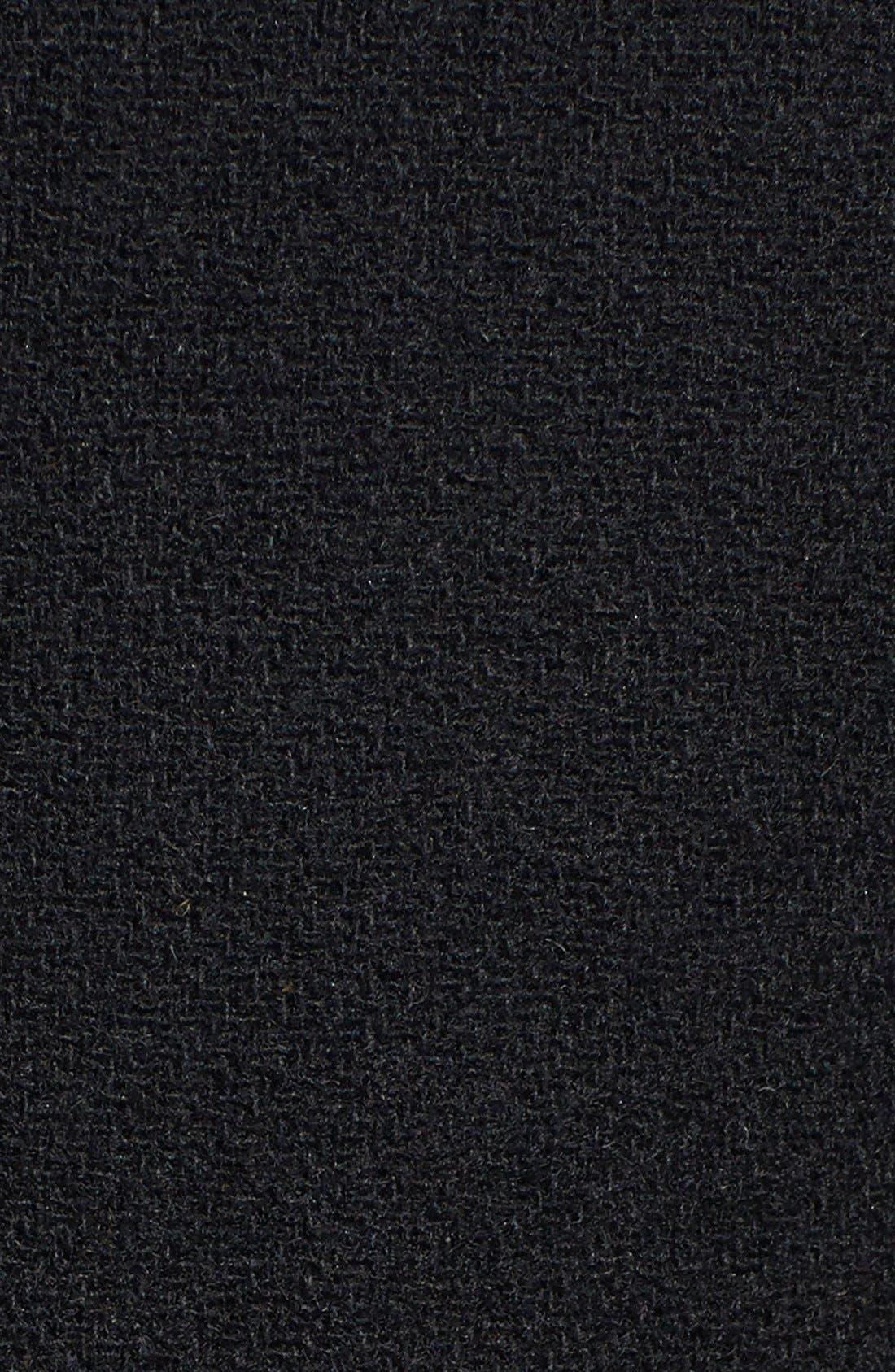 Wool Blend Duffle Coat,                             Alternate thumbnail 3, color,                             001