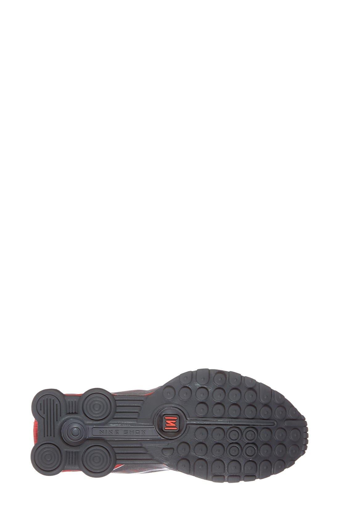 'Shox Superfly R4' Running Shoe,                             Alternate thumbnail 3, color,                             020