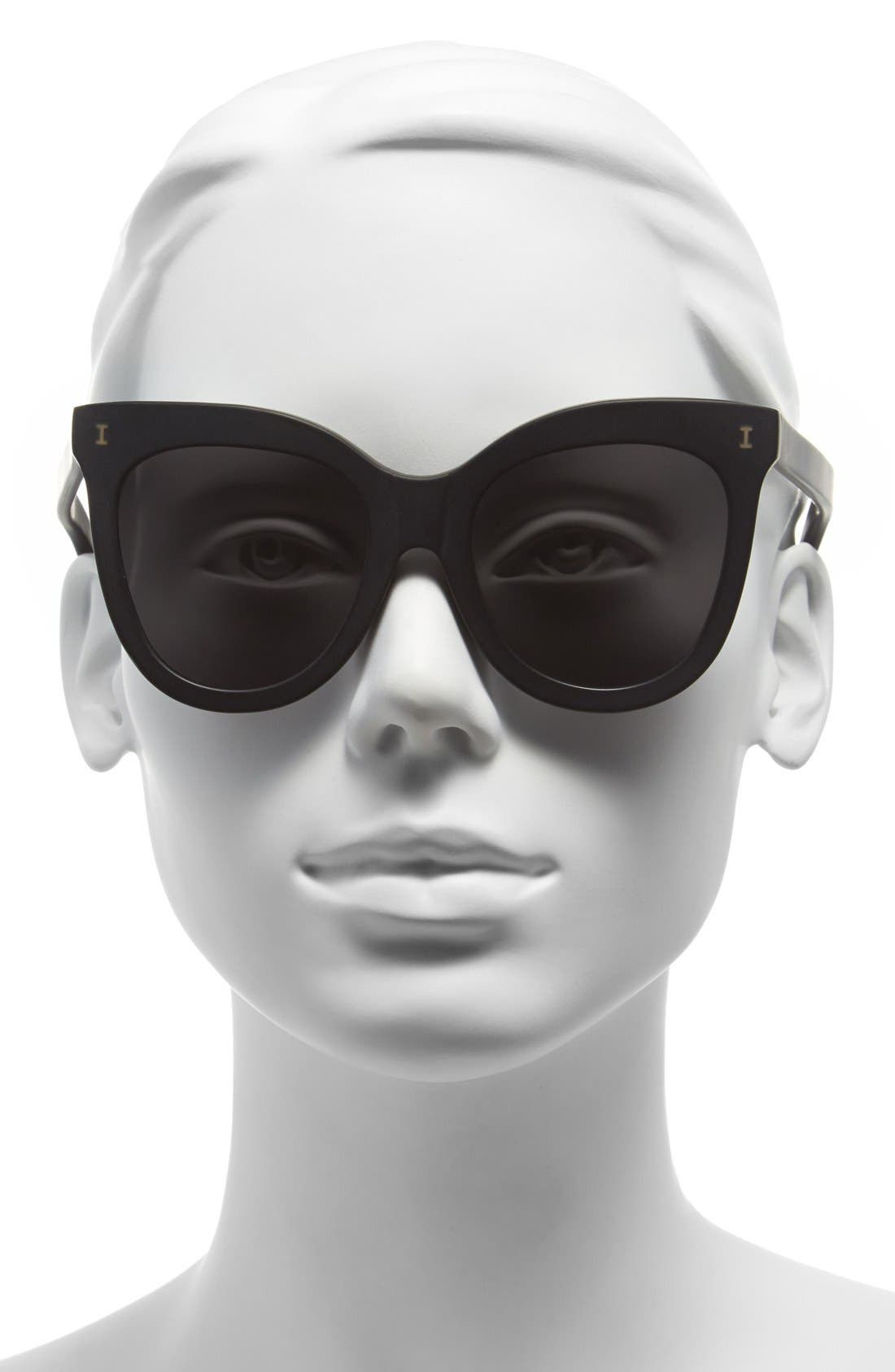 'Holly' 51mm Sunglasses,                             Alternate thumbnail 2, color,                             001