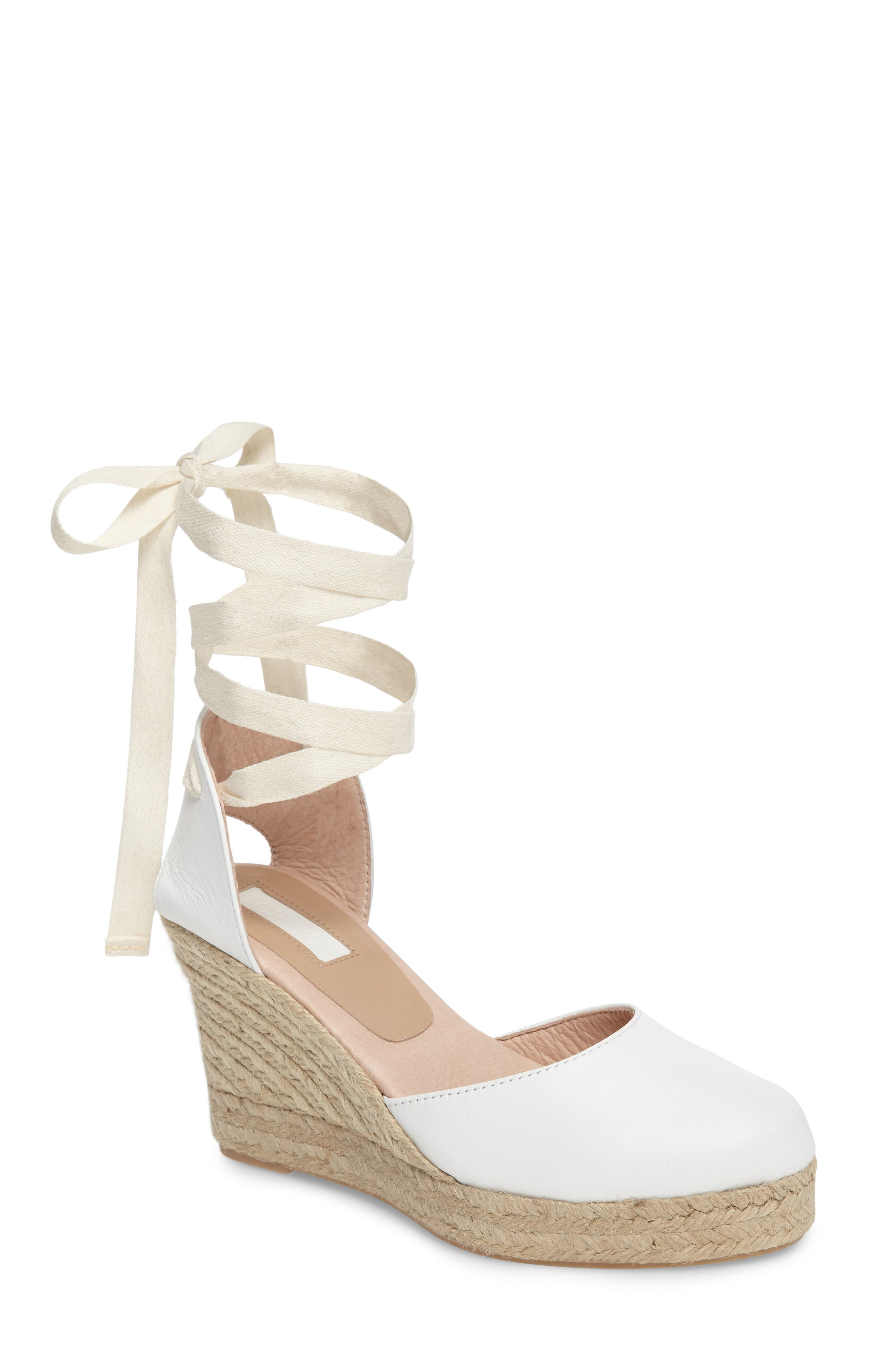 Warmth Espadrille Wedge,                         Main,                         color, 100