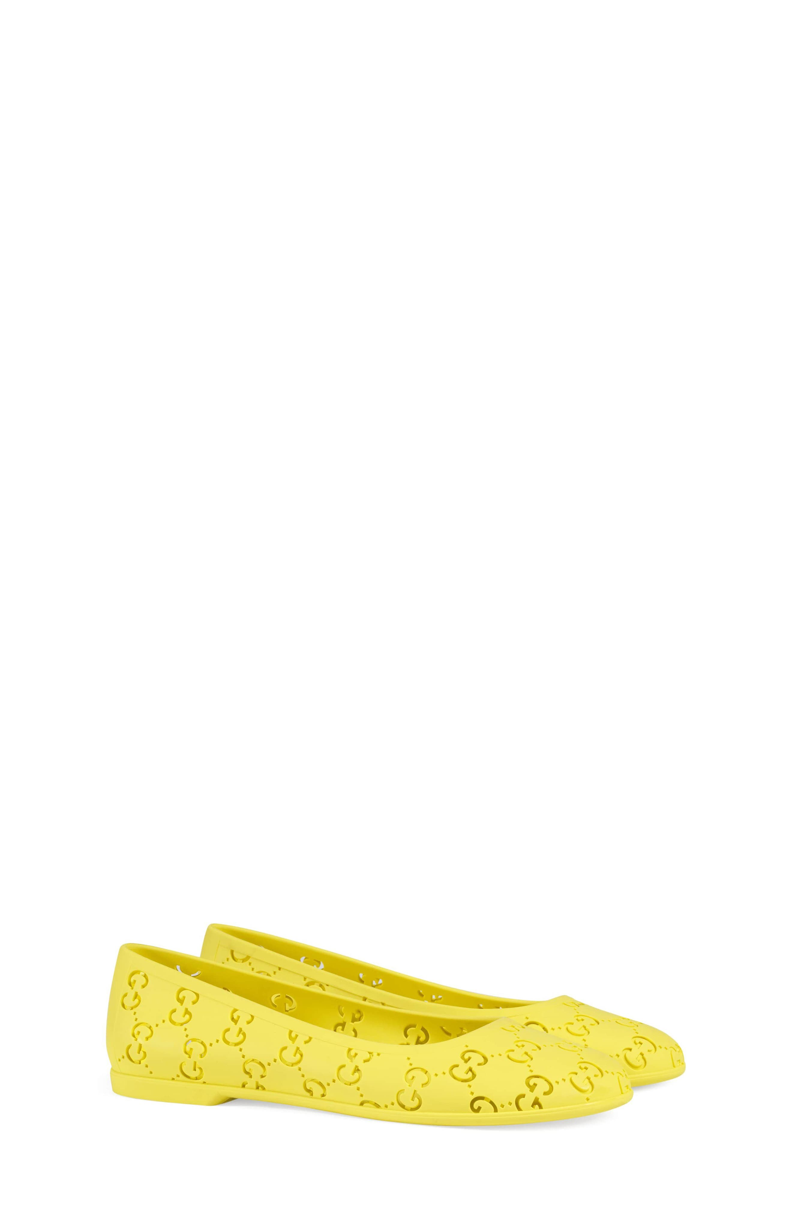 Junior Etretat Flat,                             Main thumbnail 1, color,                             ACID YELLOW