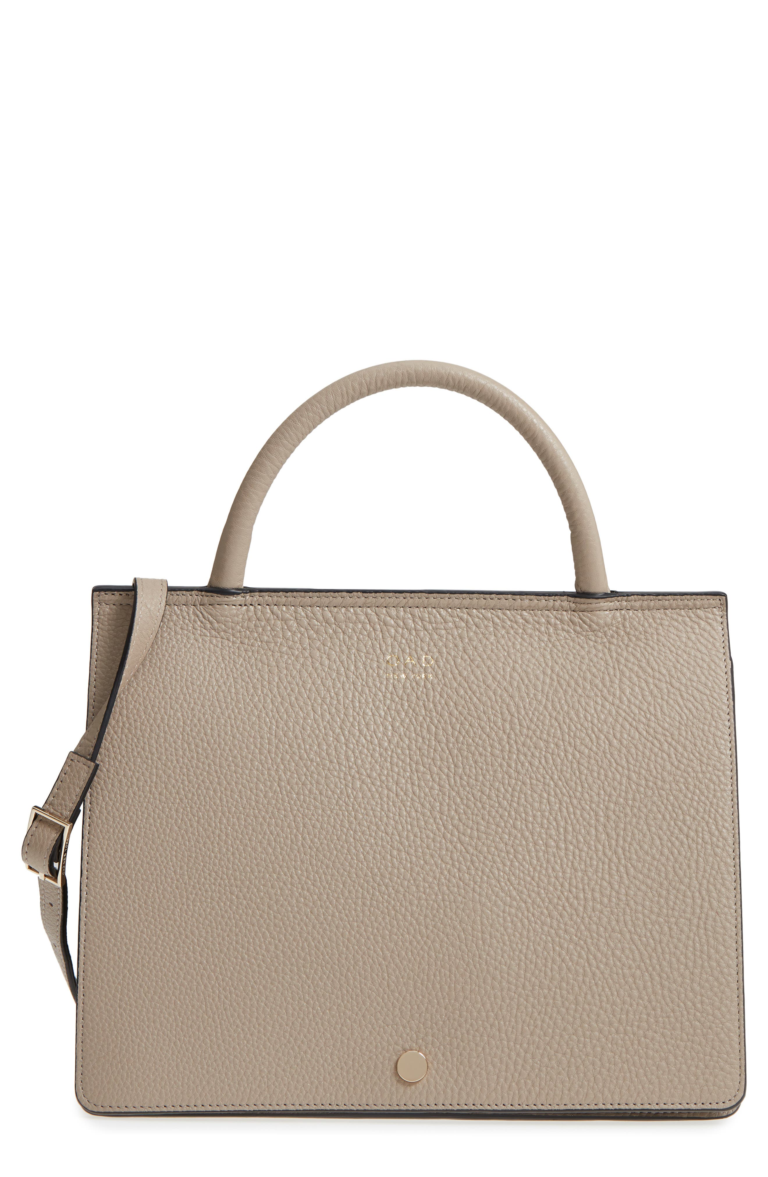 Prism Convertible Satchel,                         Main,                         color, TAUPE
